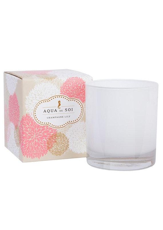 Aqua de Soi Aqua Champagne Lily Soy Candle