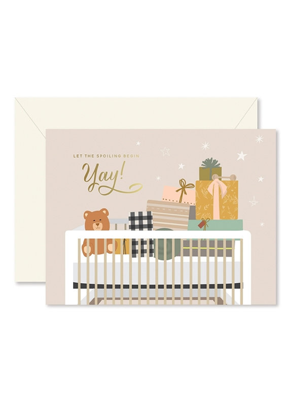 Ginger P. Designs Ginger P. Spoiling Baby Card