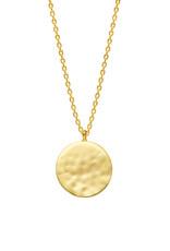 Estella Bartlett Estella B Hammered Disc Necklace