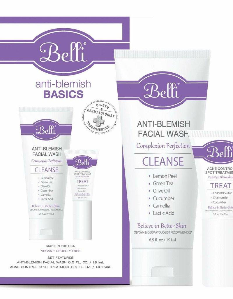 Belli Skincare Belli Anti-Blemish Basics 2pc Kit