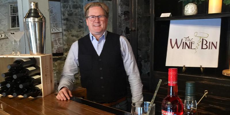 Dave Carney, Owner The Wine Bin
