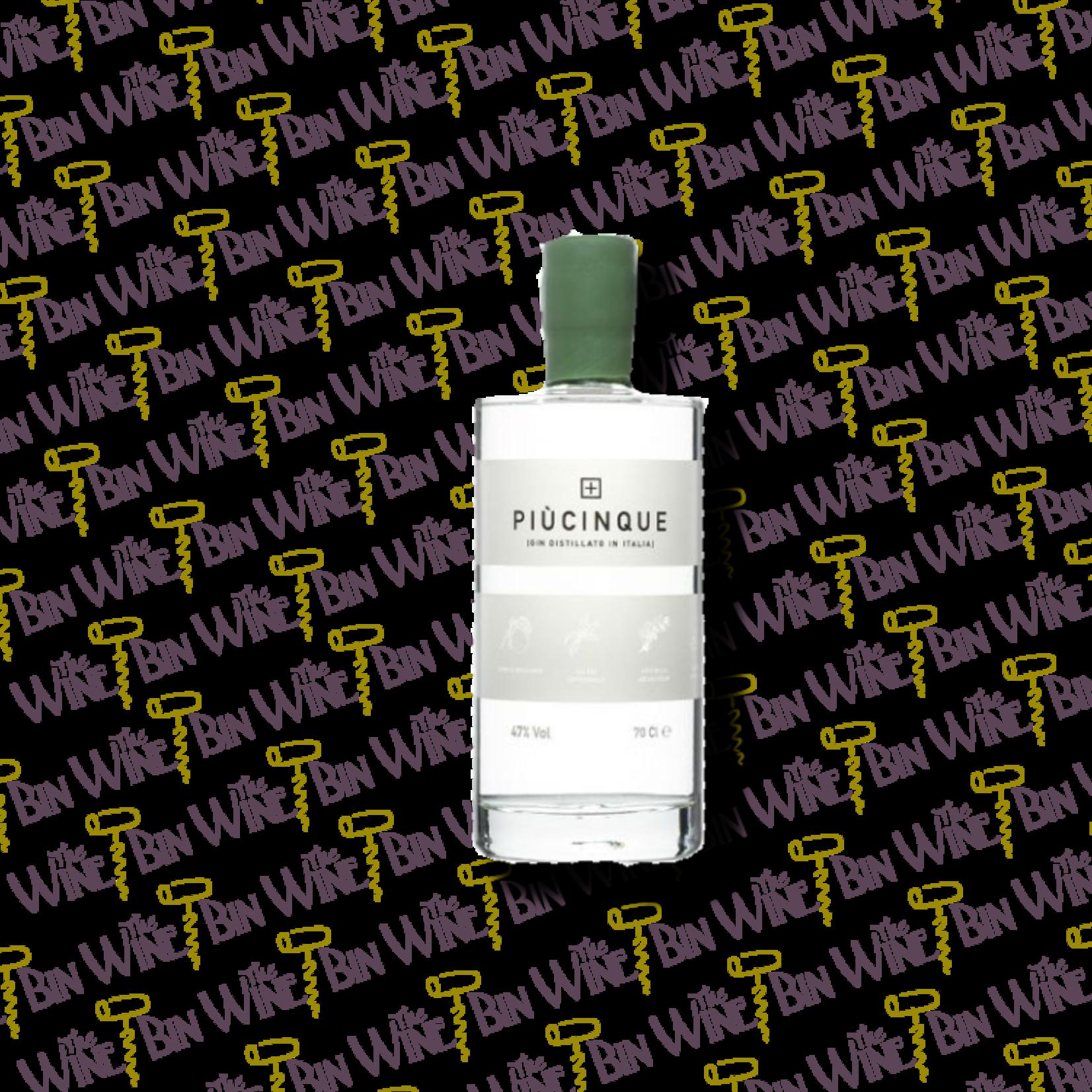 Piucinque Piucinque Three Spirits Gin – 750ml
