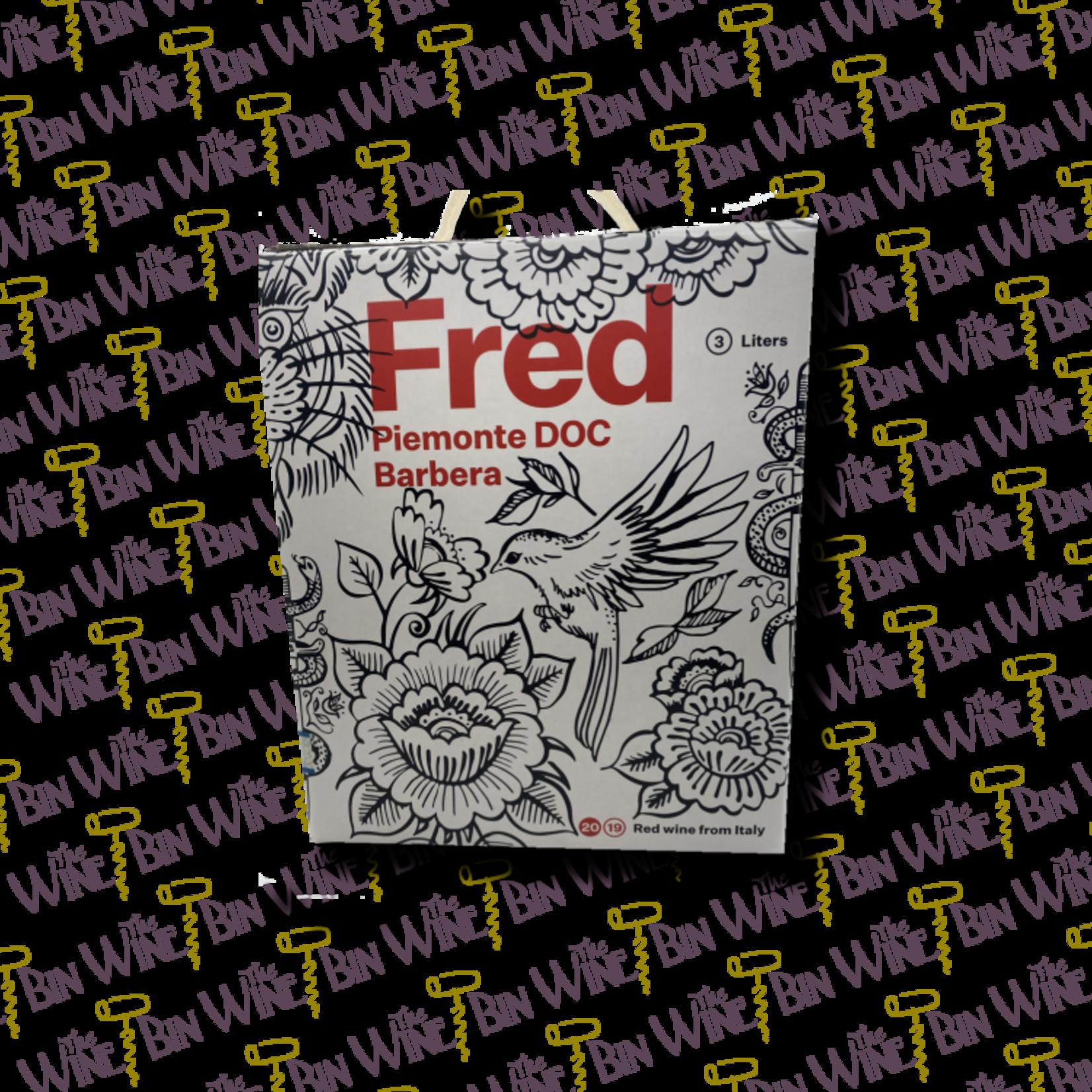 FRED Fred - Barbera  Box Wine - 3.0L