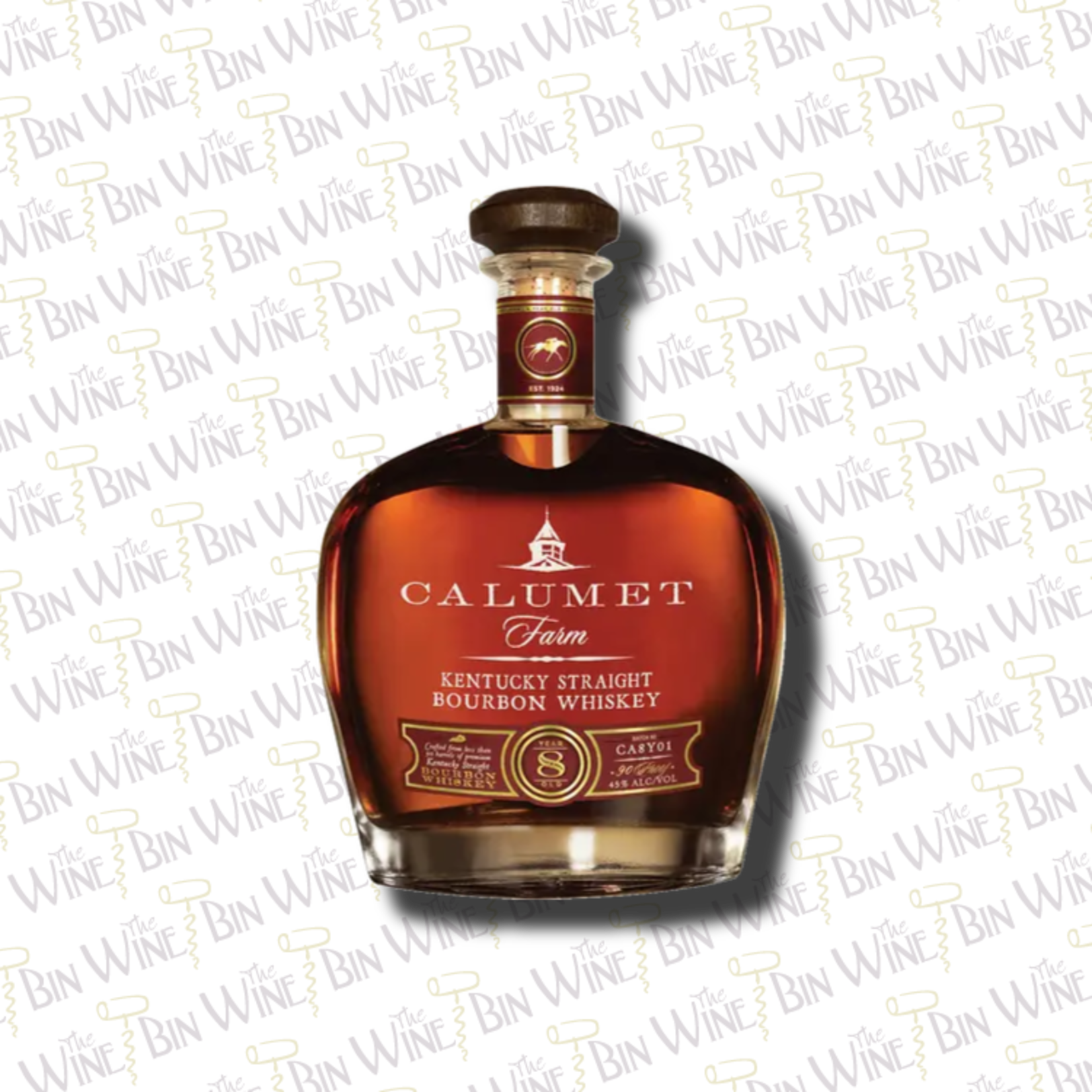 CALUMET FARM Calumet Farm • 8Year Bourbon • .750L • Bottle