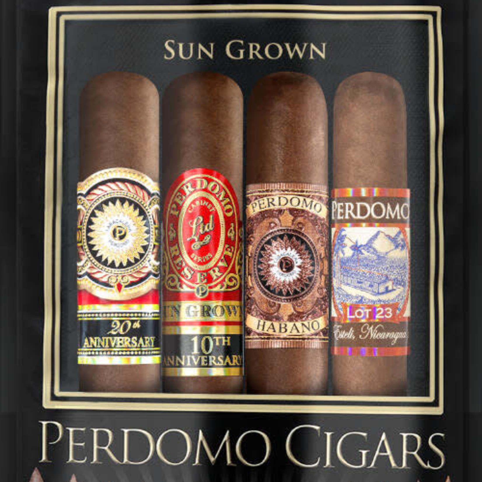 Perdomo Cigars Perdomo Cigars - Sungrown 4-Pack