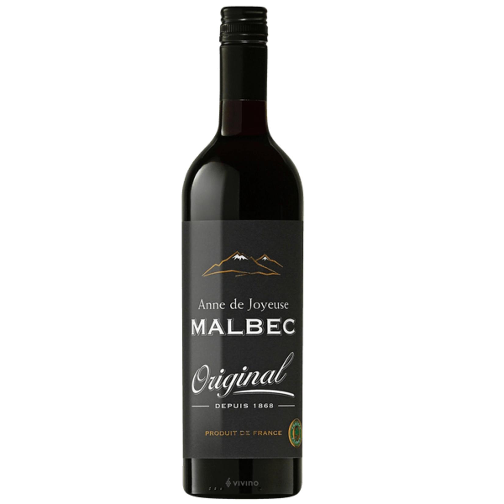 ANNE DE JOYEUSE ANNE DE JOYEUSE • MALBEC • .750L • Bottle