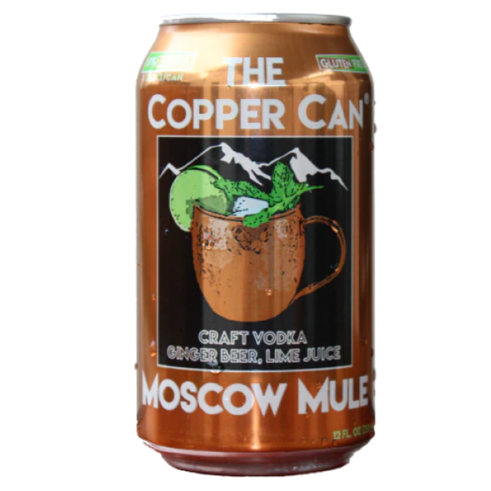 COPPER CAN COPPER CAN - MOSCOW MULE Single - 12oz