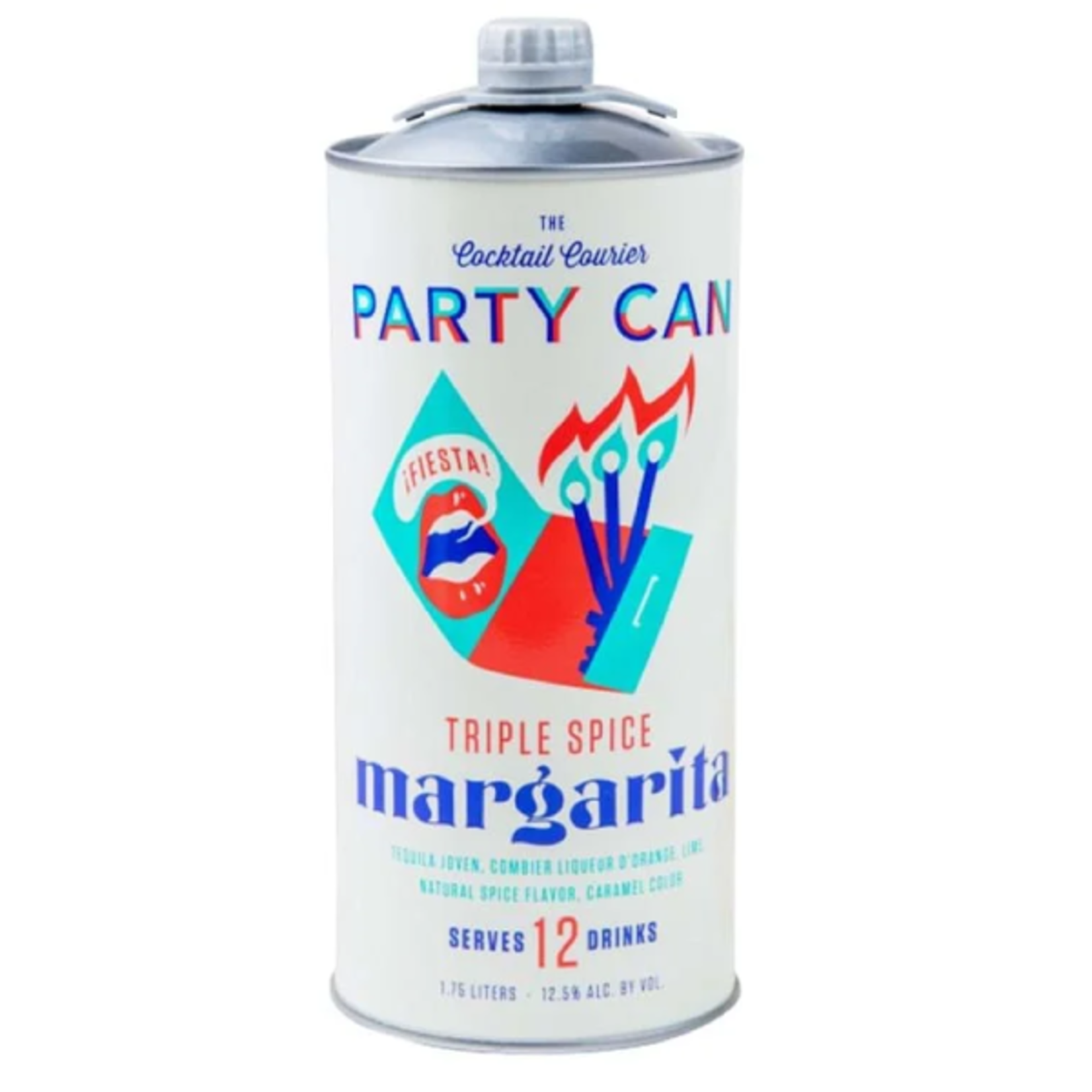 Cocktail Courier PARTY CAN - Triple Spice Margarita - 1.75L