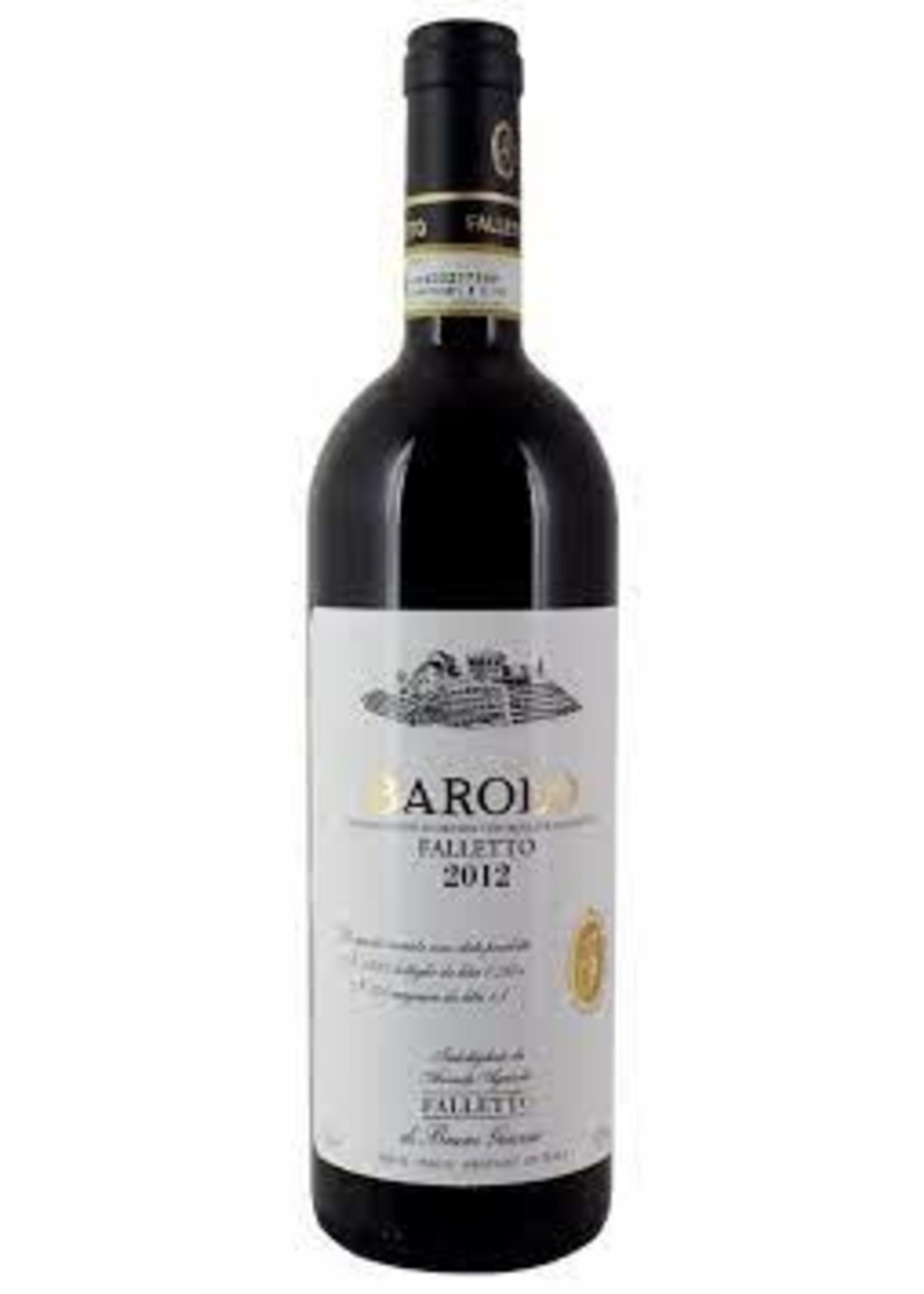 B. Giacosa 2012 Barolo (White Label) Falletto 750ml