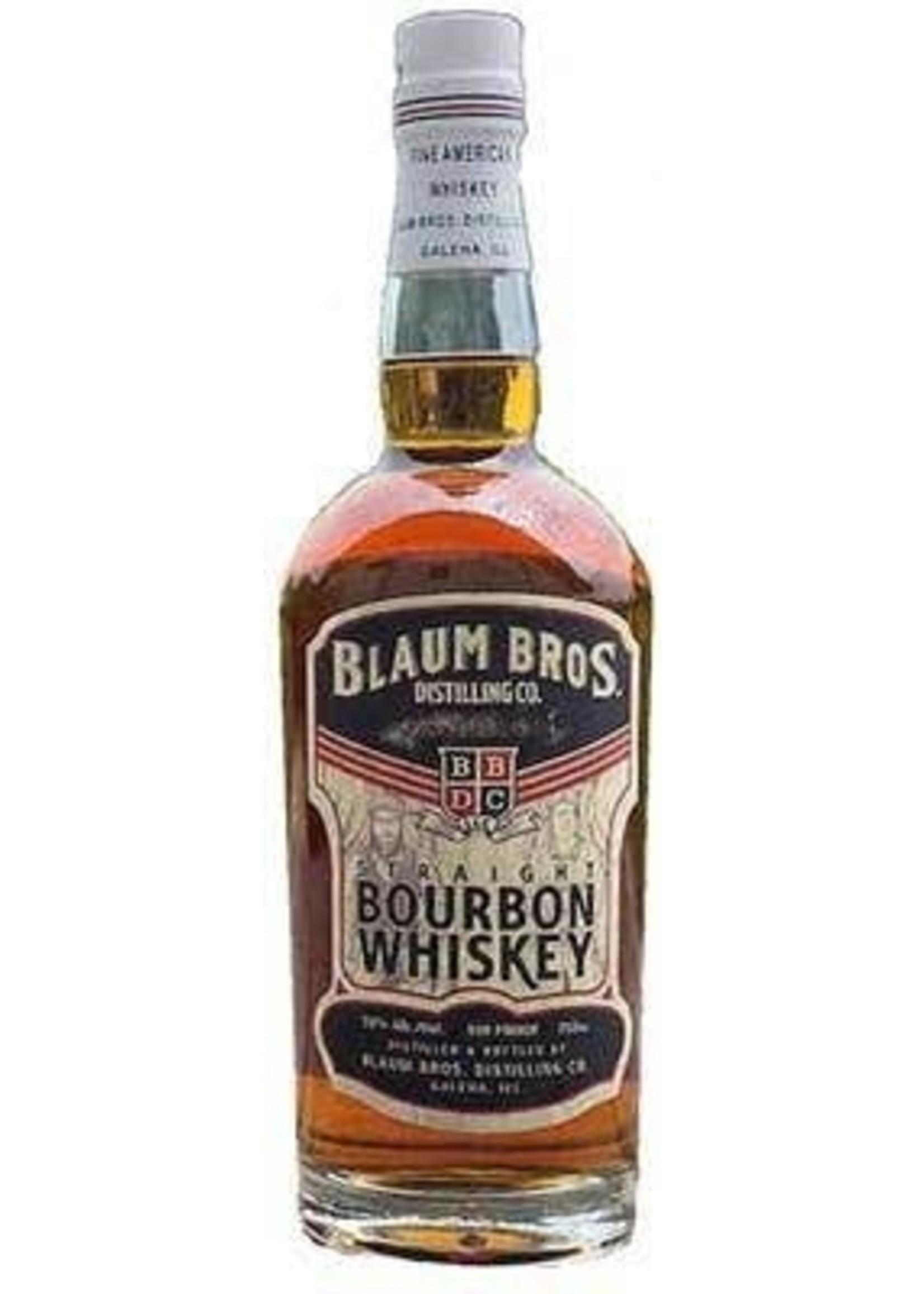 Blaum Bros Straight Bourbon Whiskey 750ml