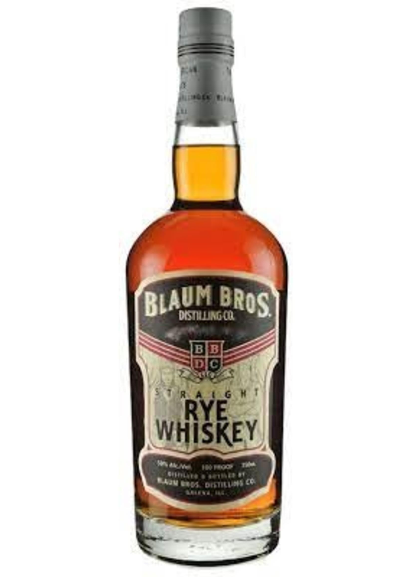 Blaum Bros Straight Rye Whiskey 750ml