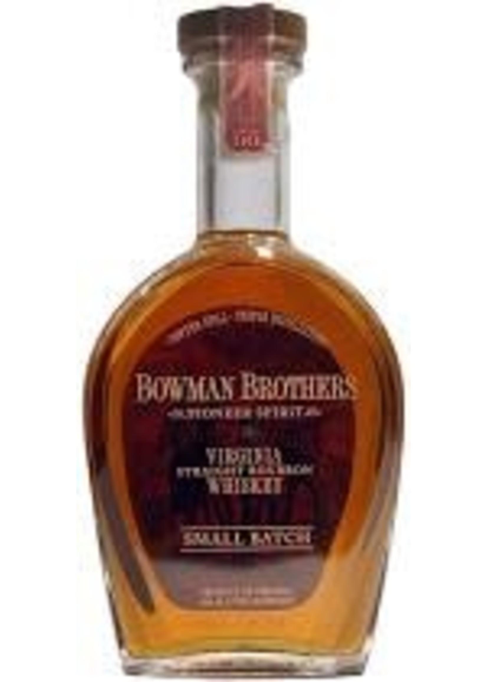 Bowman Brothers Virginia Straight Bourbon Whiskey 90 PF 750ml