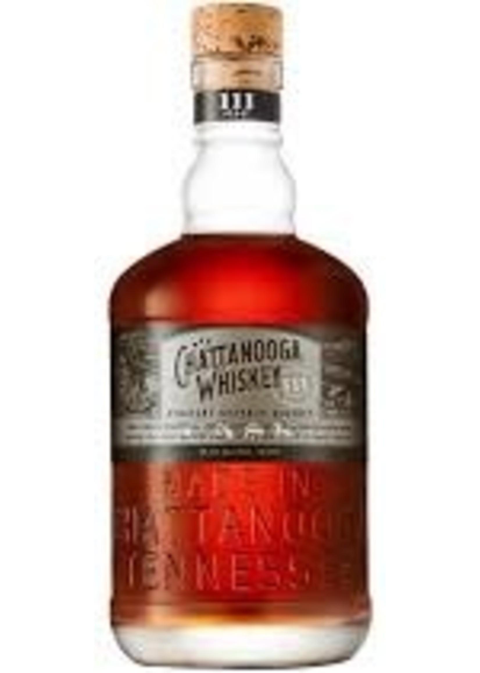 Chattanooga Whiskey Straight Bourbon 111 PF 750ml