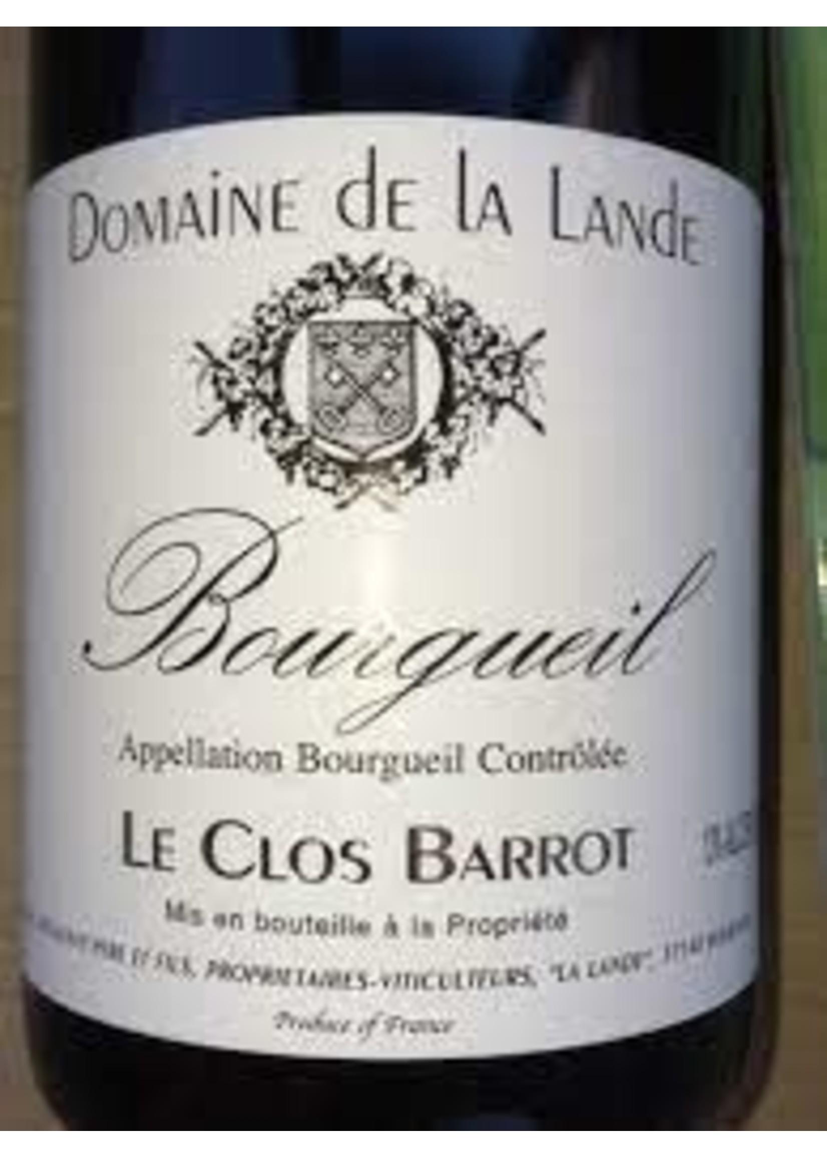 Domaine de la Lande 2014 'Clos Barrot' Bourgueil Rouge 750ml