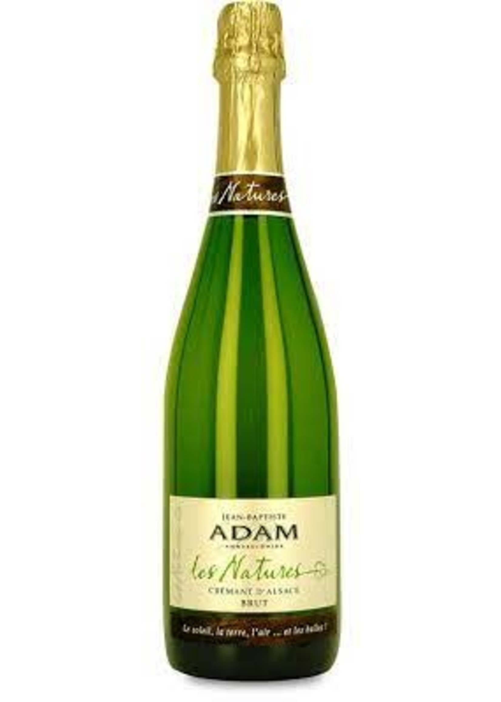 Jean Baptiste Adam NV Crement d'Alsace Les Natures Brut 750ml