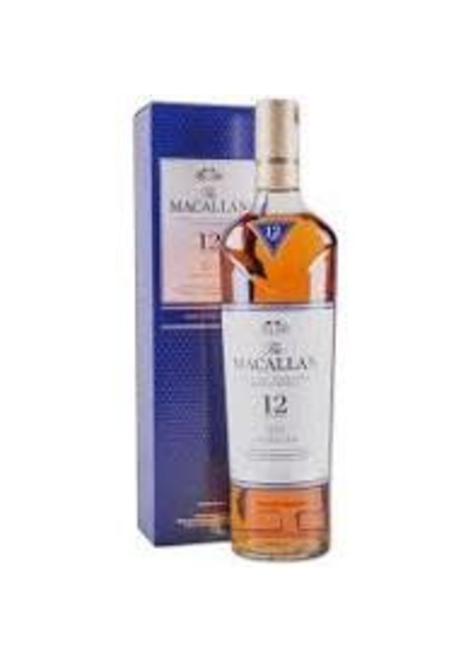 The Macallan Scotch 12 Year Double Cask 86 Proof 750ml