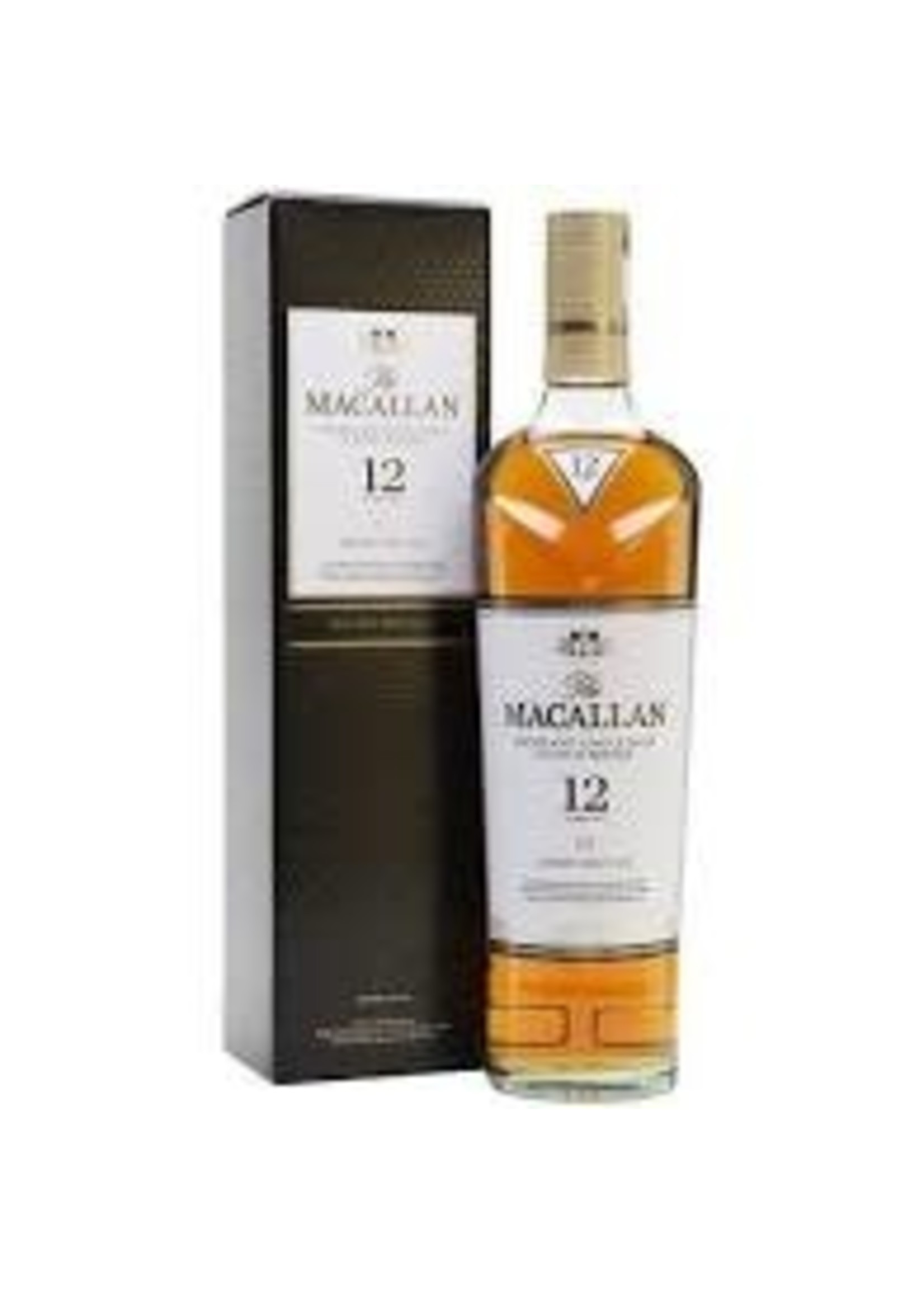 The Macallan Scotch 12 Year Sherry Oak Cask 750ml