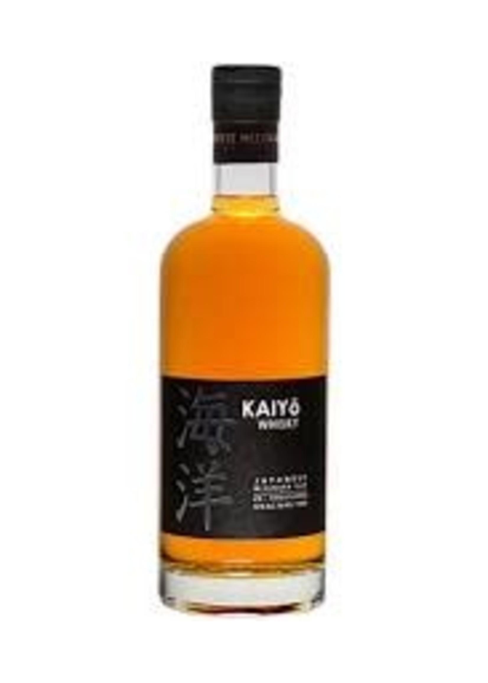 Kaiyo Japanese Whisky Mizunara Oak 750ml