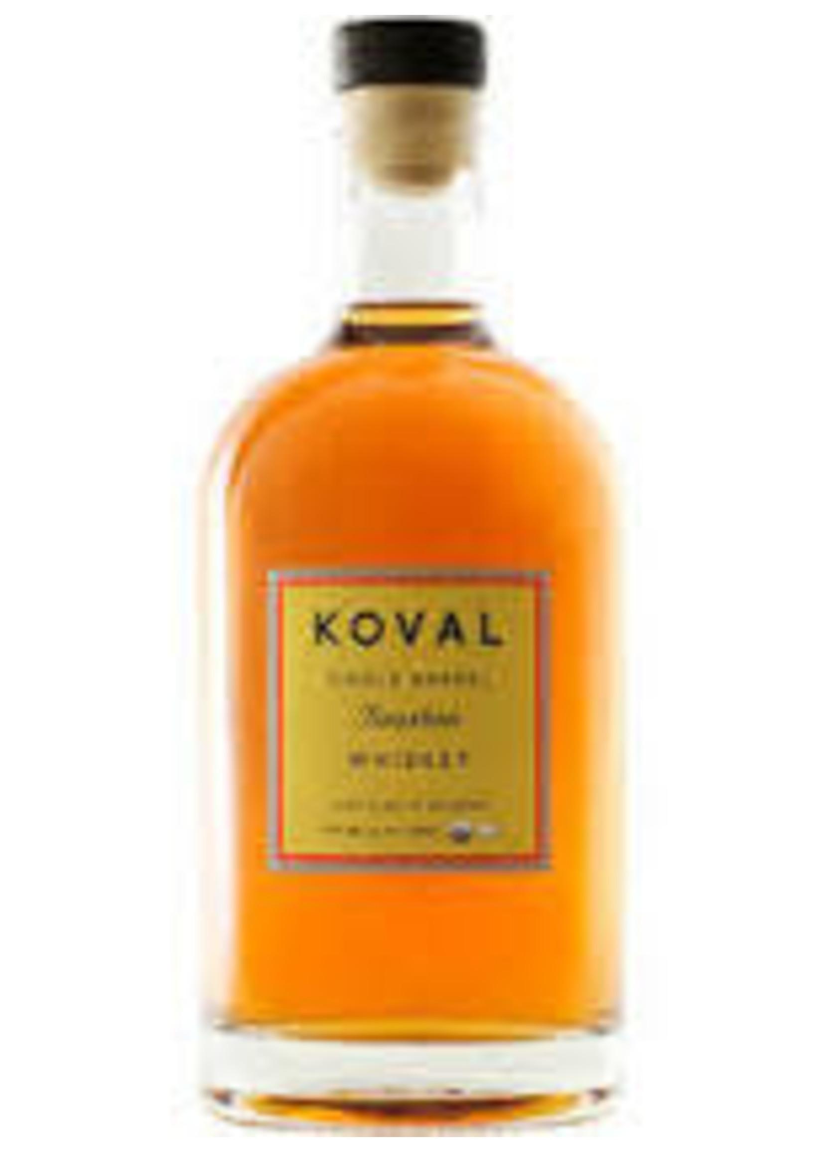 Koval Single Barrel Bourbon Whiskey Chicago 750ml