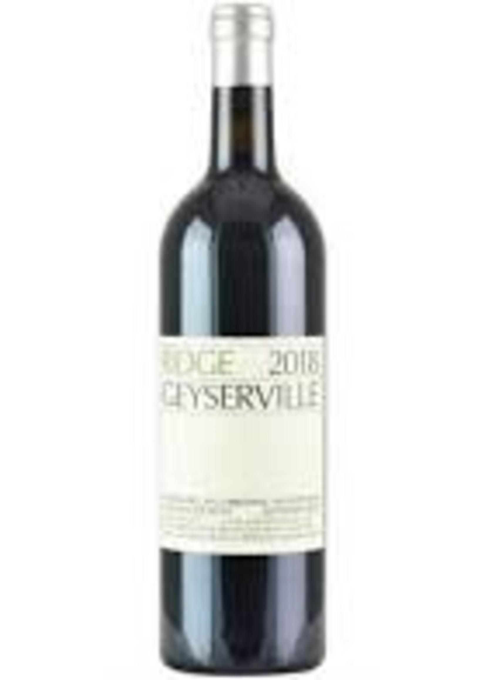 Ridge 2017 Red Geyserville 750ml