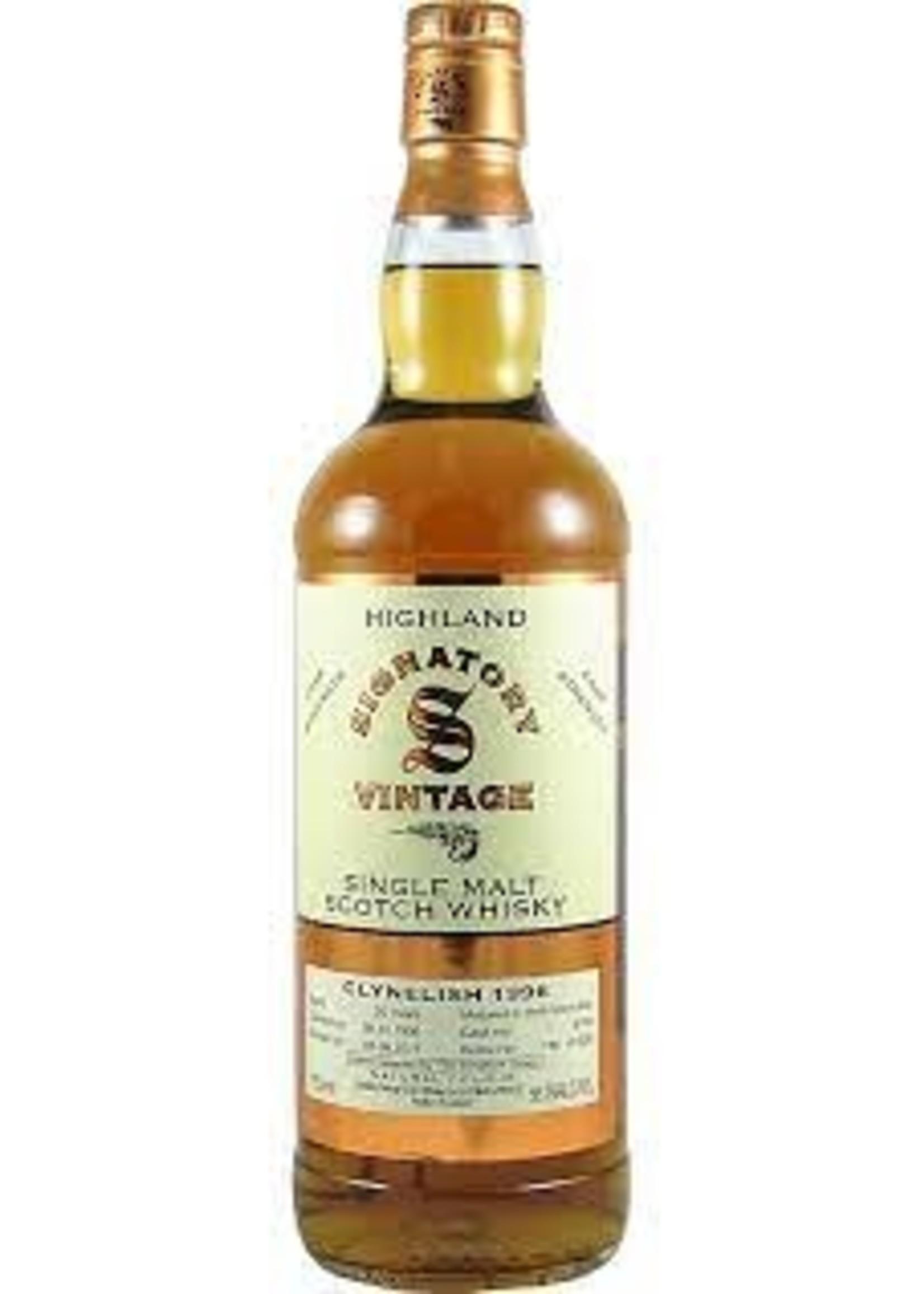 Signatory 1996 Clynelish 20 Yr Scotch 112.6 PF 750ml