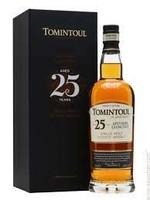 Tomintoul 25 Year Old Speyside Glenlivet Single Malt Scotch Whisky 750ml
