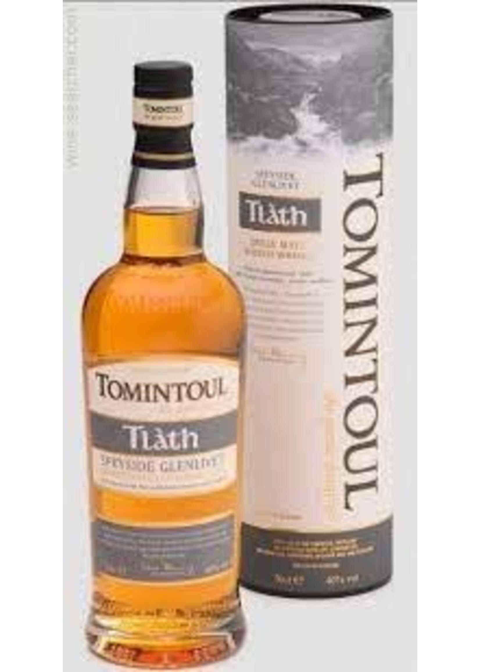 Tomintoul L'Tath Speyside Glenlivet Single Malt Scotch Whisky 750ml