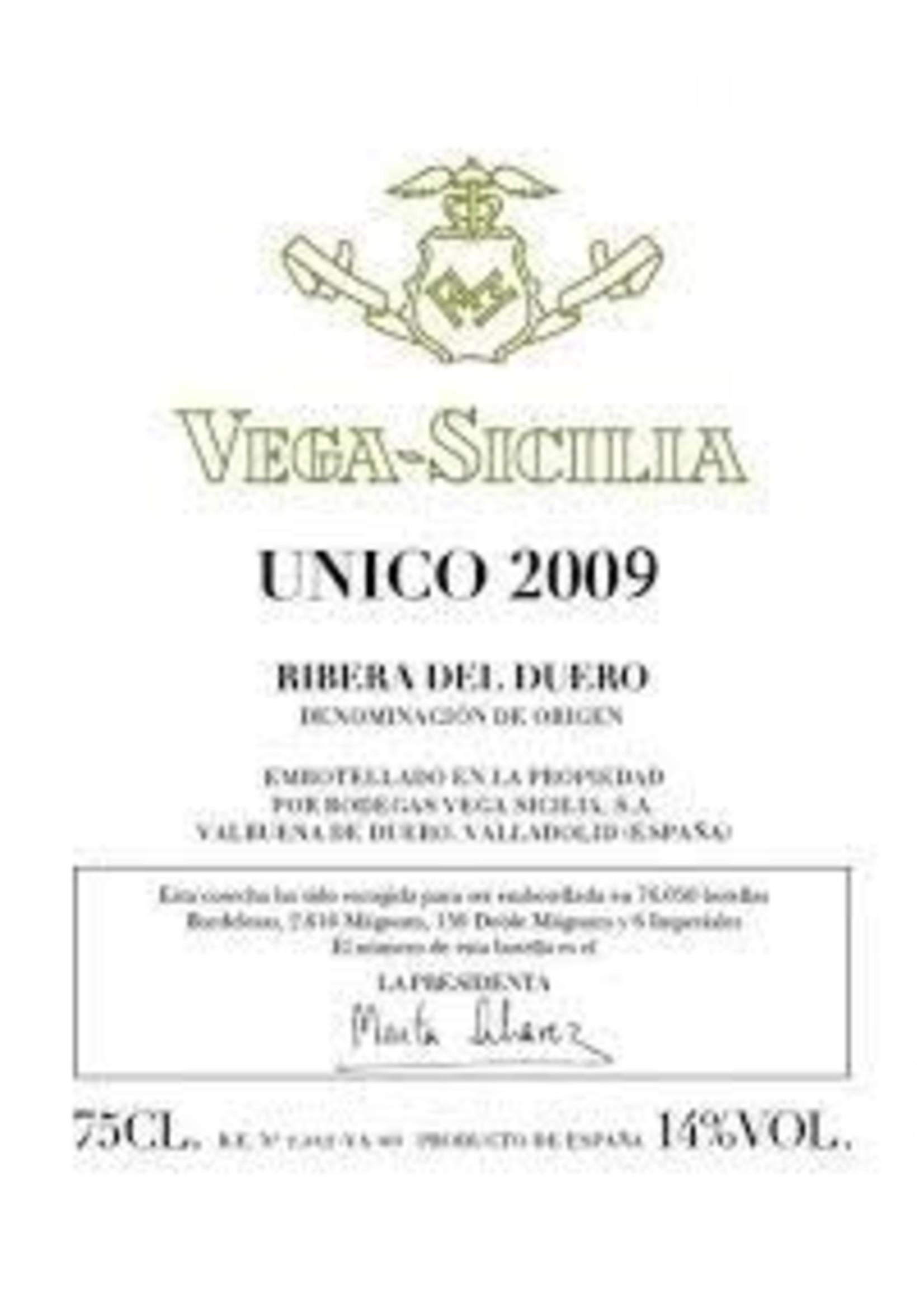 Vega Sicilia 2009 Unico Gran Reserva 750ml