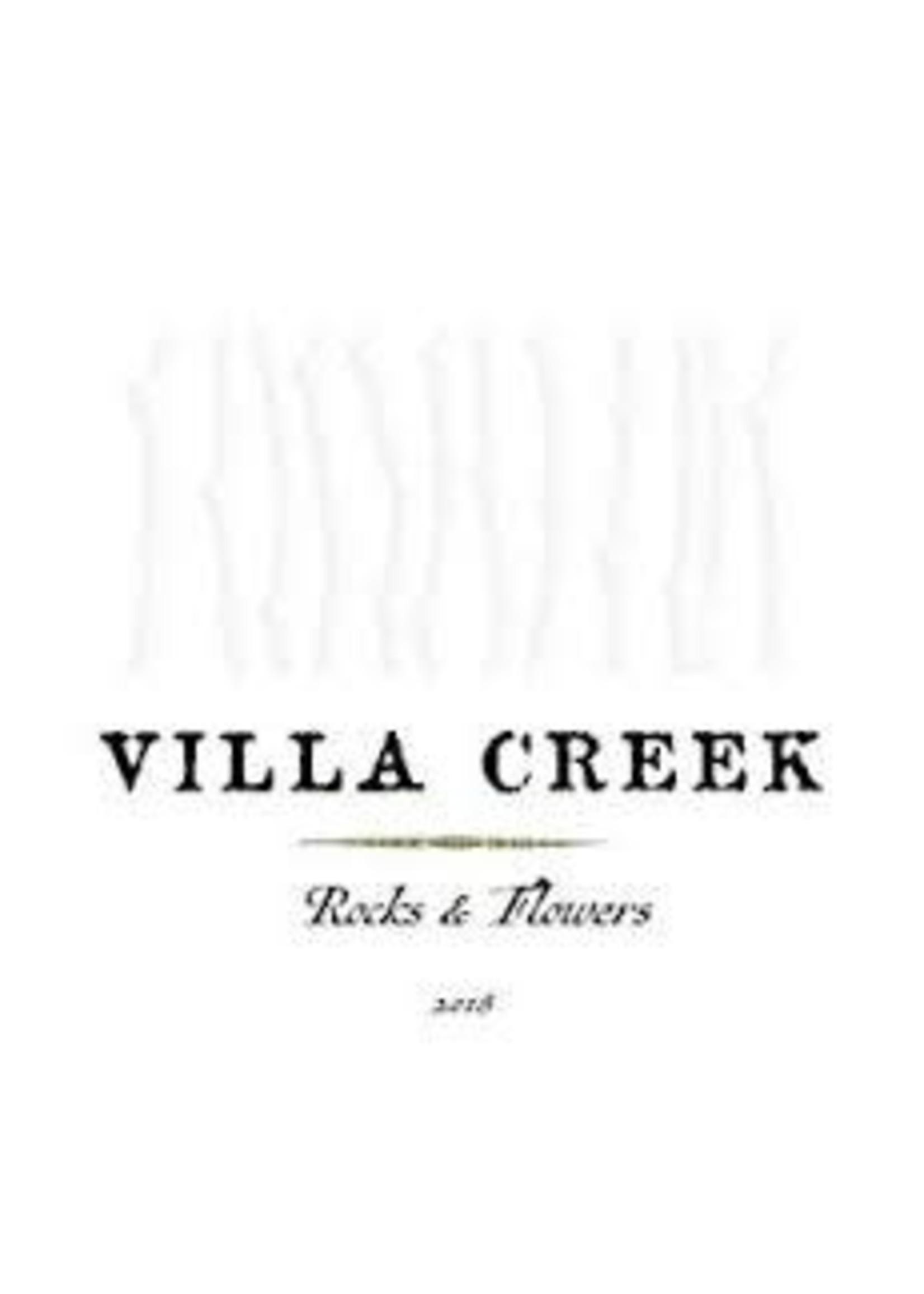 Villa Creek 2018 'Rocks & Flowers' Red 750ml