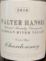 Walter Hansel 2018 Chardonnay Cuvee Alyce 750ml
