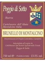 Poggio di Sotto 2015 Brunello di Montalcino Riserva 750ml