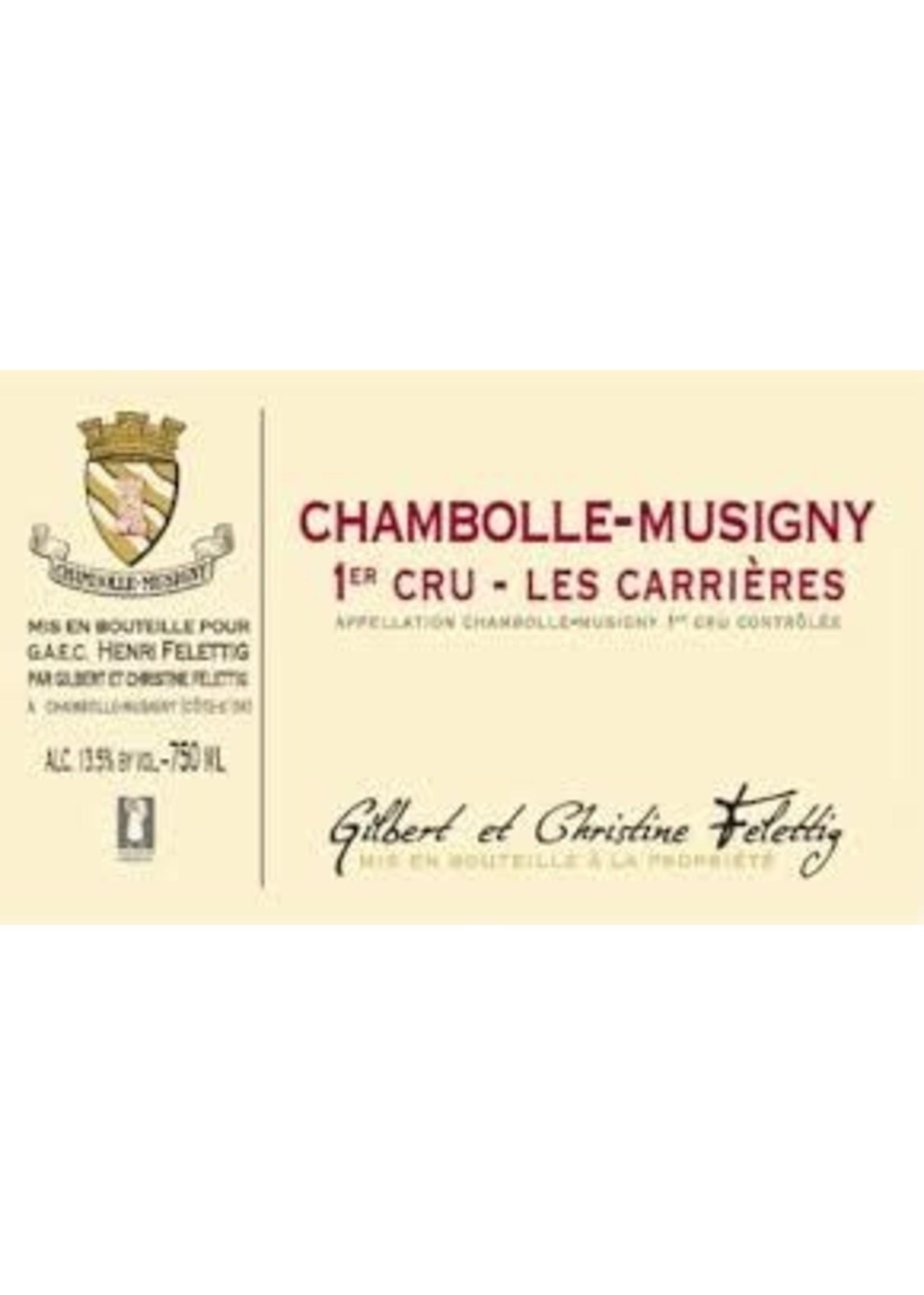 Felettig 2017 Chambolle-Musigny 1er Cru Les Carrieres 750ml
