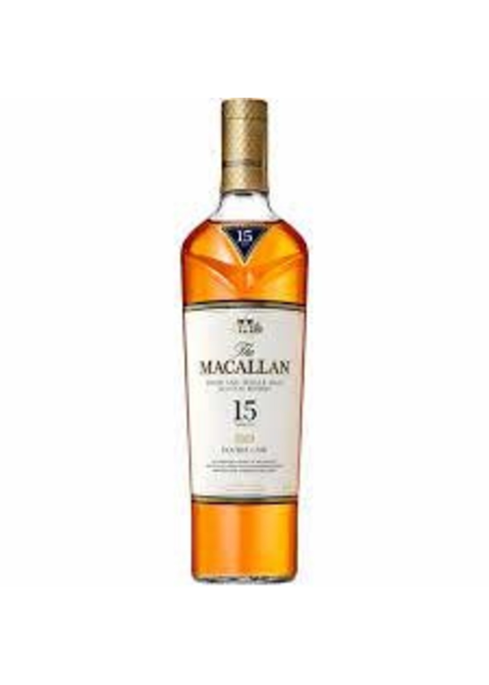 The Macallan Scotch 15 Year Double Cask 86 Proof 750ml
