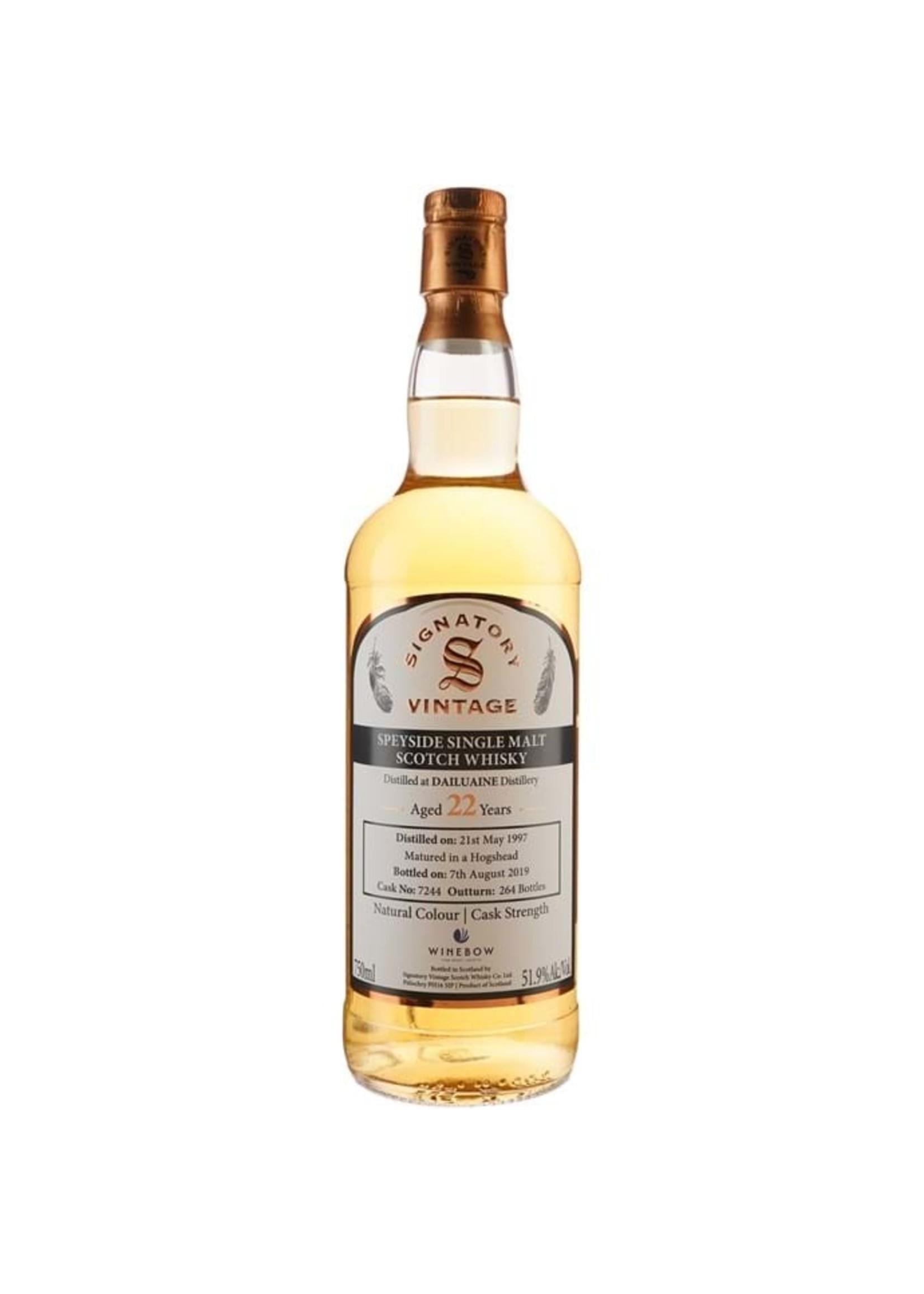 Signatory 1997 Dailuaine 22 Yr Scotch 103.8 PF 750ml