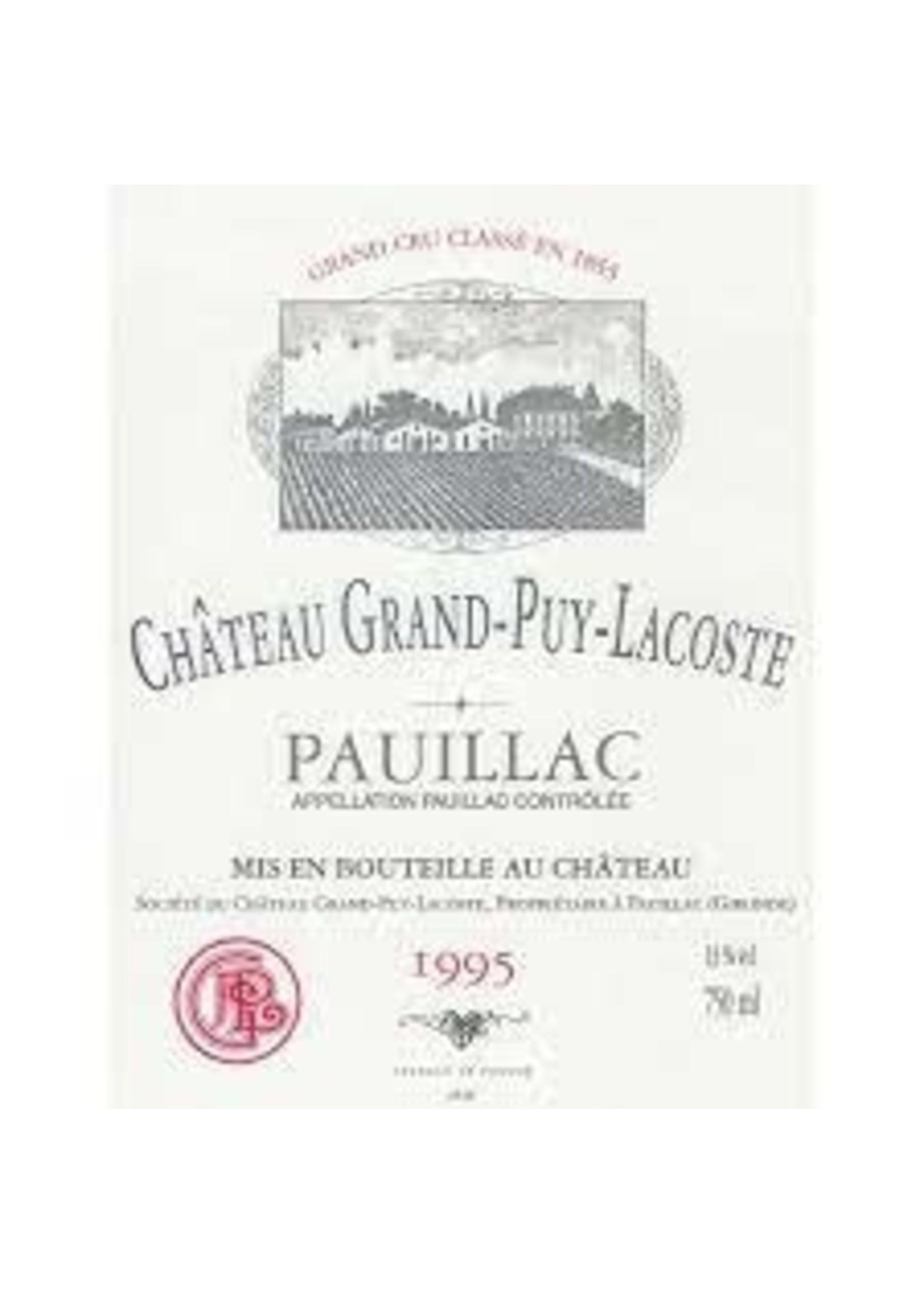 Chateau Grand-Puy-Lacoste 1995 Pauillac 750ml [PRE-ARRIVAL]