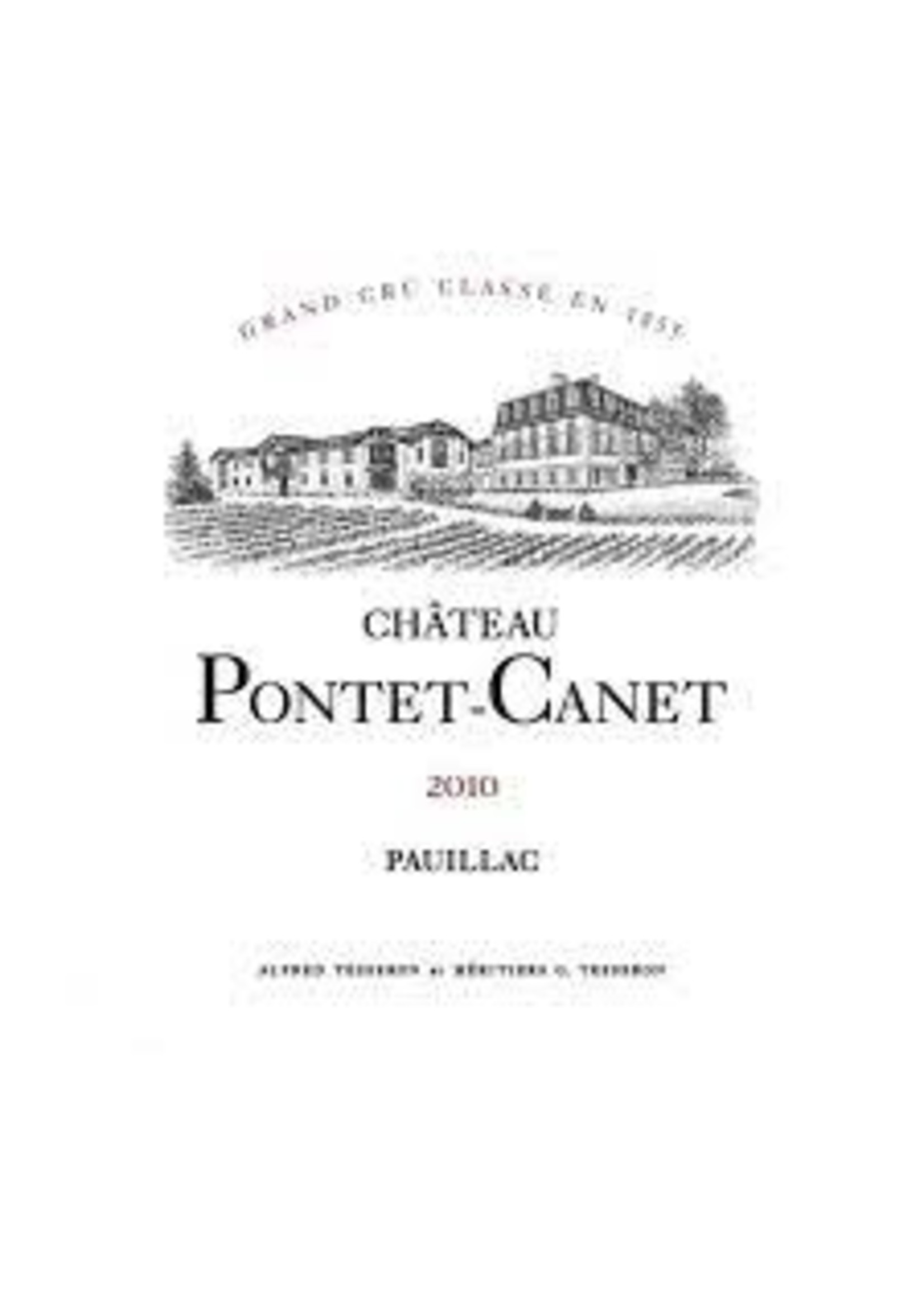 Chateau Pontet Canet 2010 Pauillac 750ml [PRE-ARRIVAL]