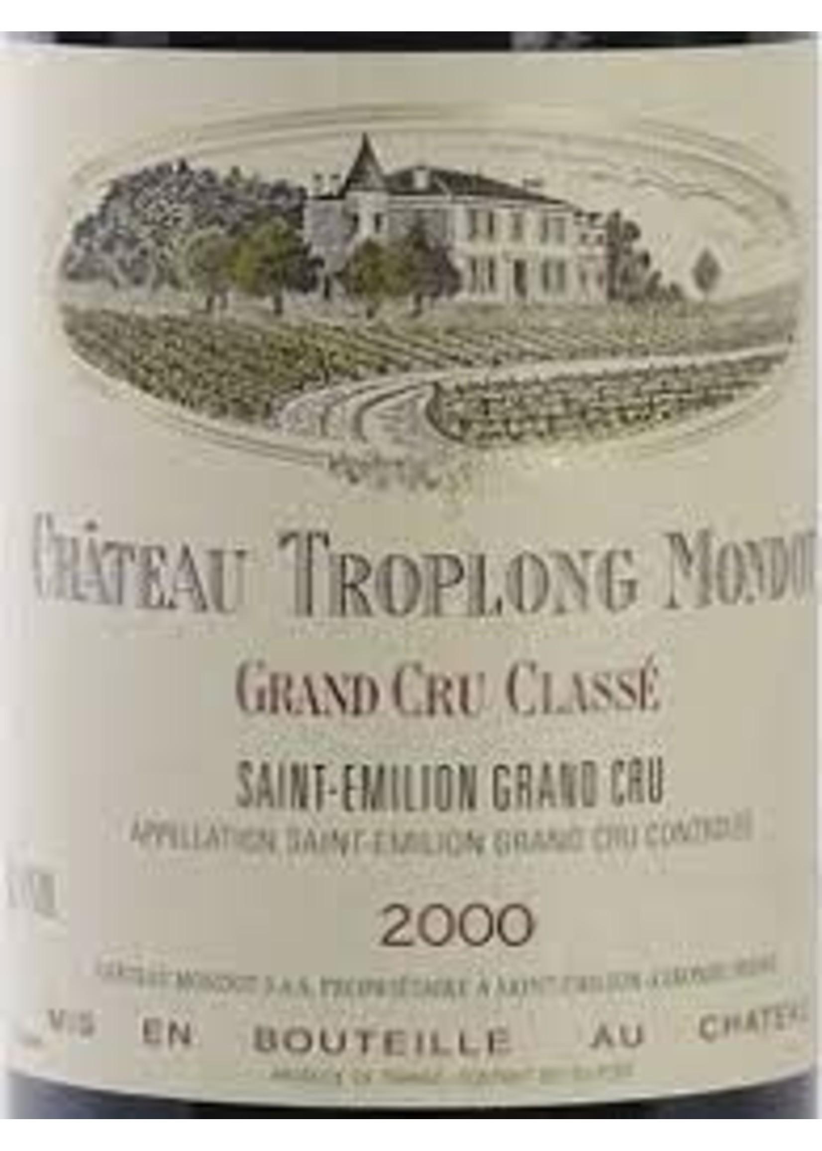 Chateau Troplong Mondot 2000 St. Emilion 750ml [PRE-ARRIVAL]