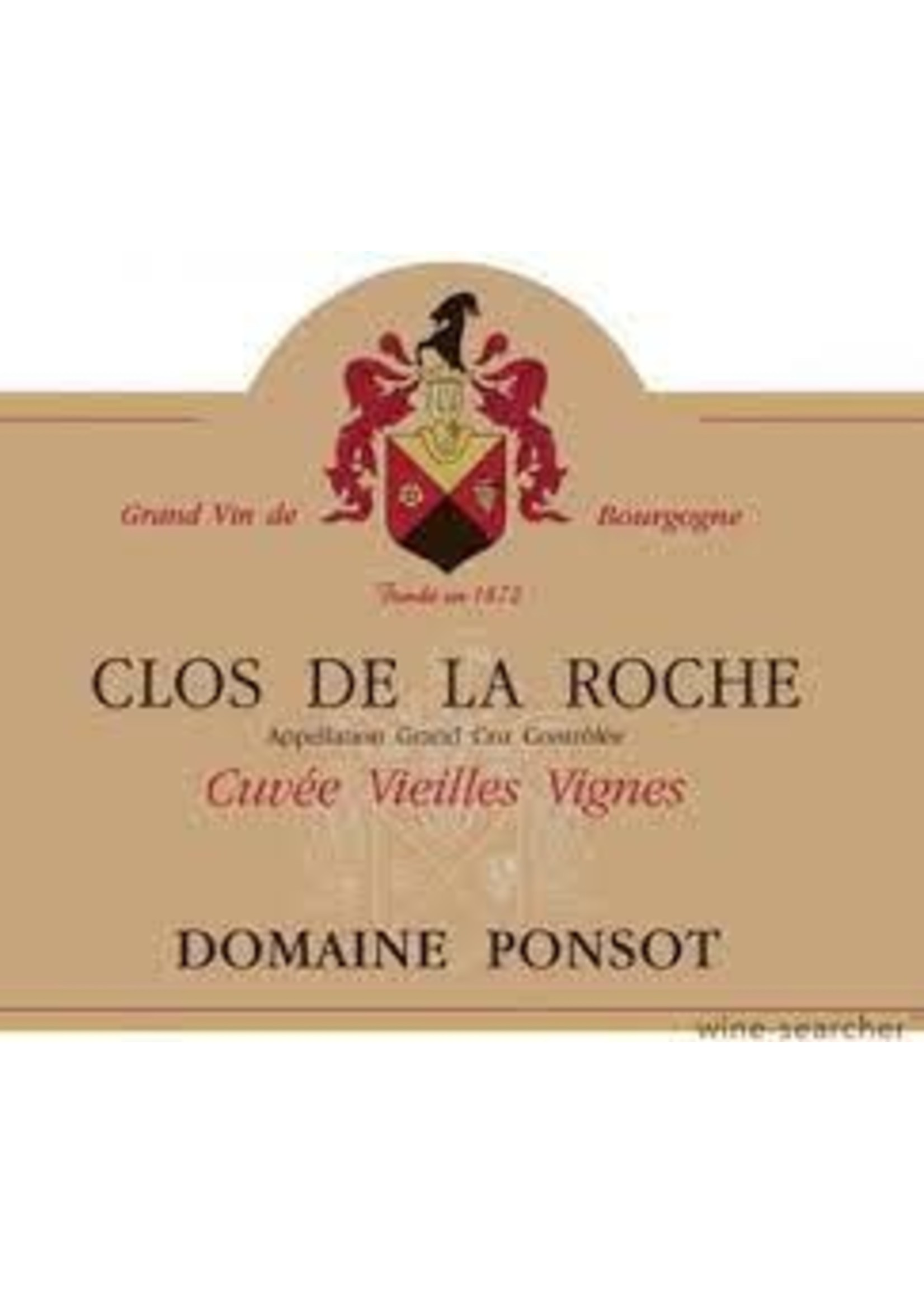Domaine Ponsot 2009 Clos de la Roche Vieilles Vignes Grand Cru 1.5L [PRE-ARRIVAL]