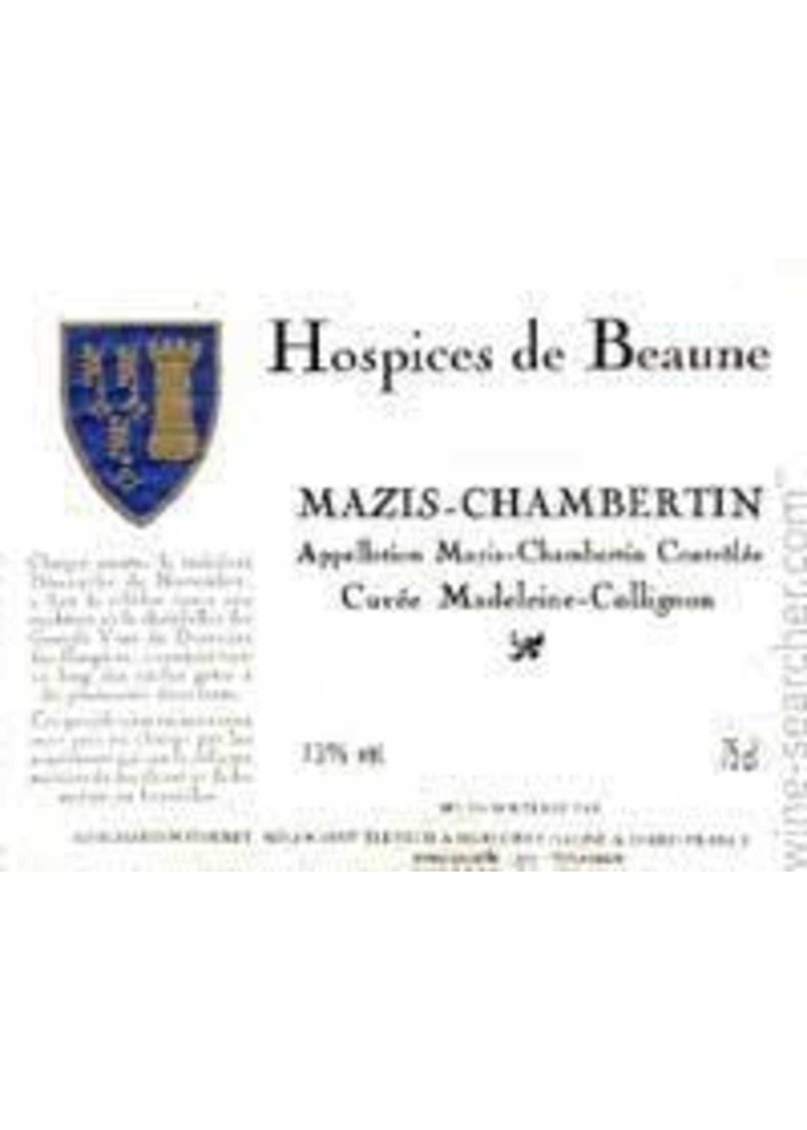 Hospices de Beaune (J.F. Mugnier) 2005 Mazis Chambertin Grand Cru Cuvee Madeleine Collignon 1.5L [PRE-ARRIVAL]