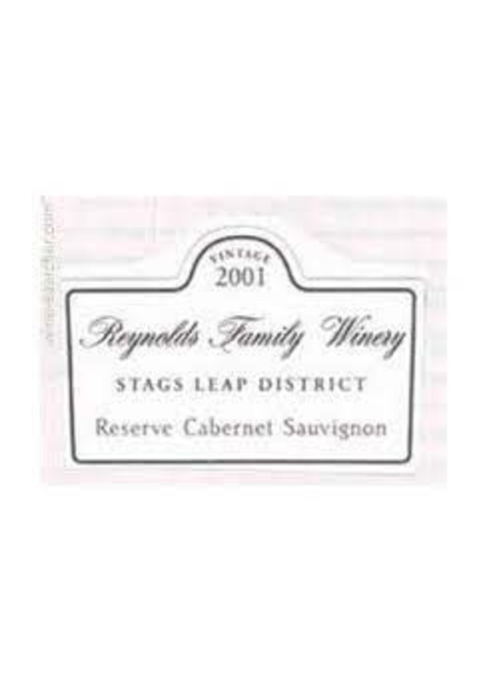 Reynolds Family 2001 Cabernet Sauvignon Reserve Stag's Leap Dist 3.0L [PRE-ARRIVAL]