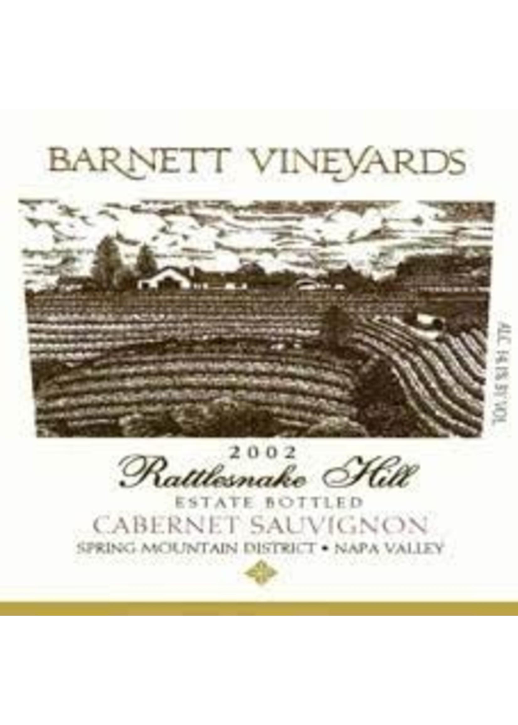 Barnett Vineyards 2002 Cabernet Sauvignon Rattlesnake Hill 6.0L [PRE-ARRIVAL]