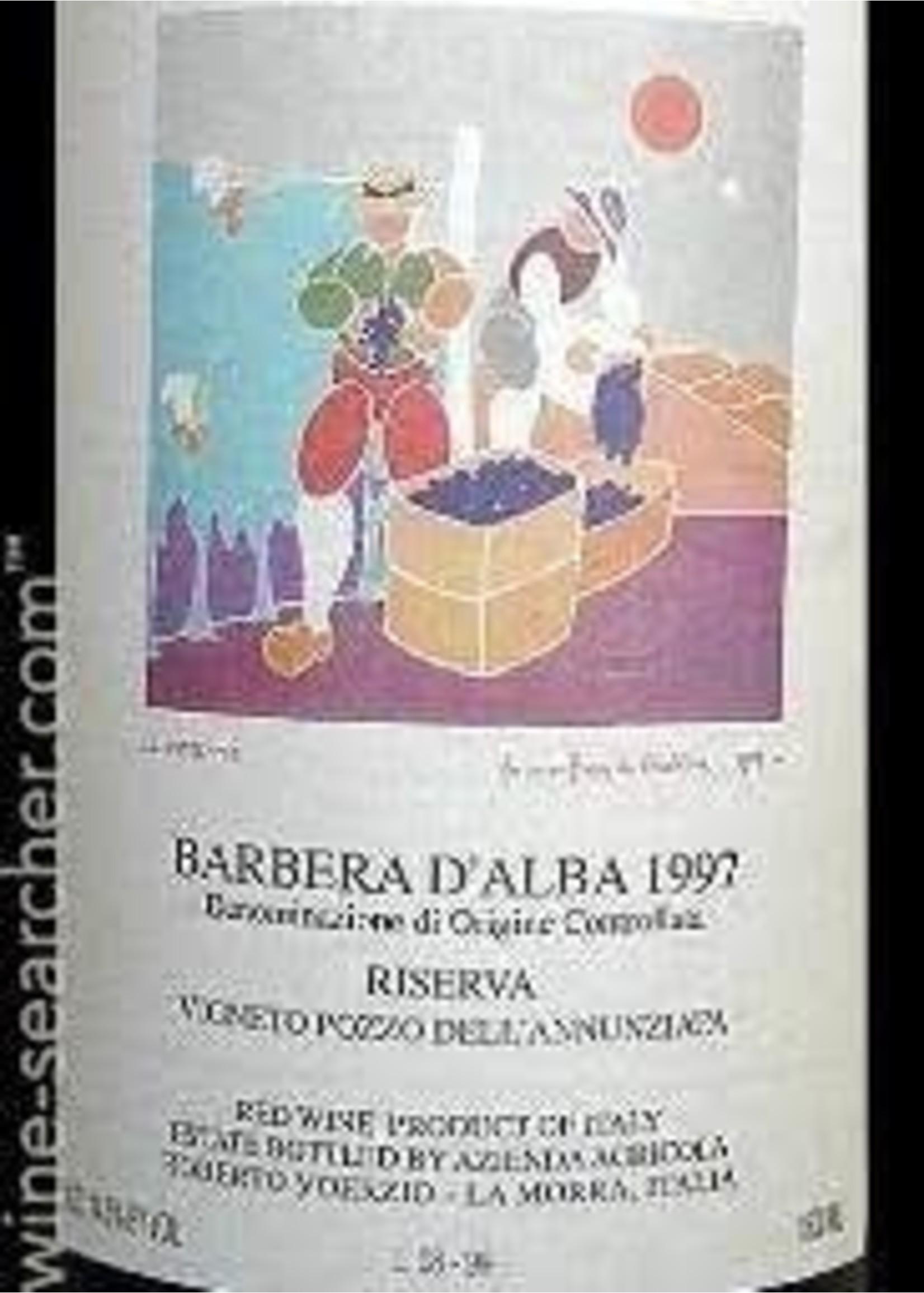 Roberto Voerzio 1997 Barbera d'Alba Riserva Pozzo dell' Annunziata 1.5L [PRE-ARRIVAL]