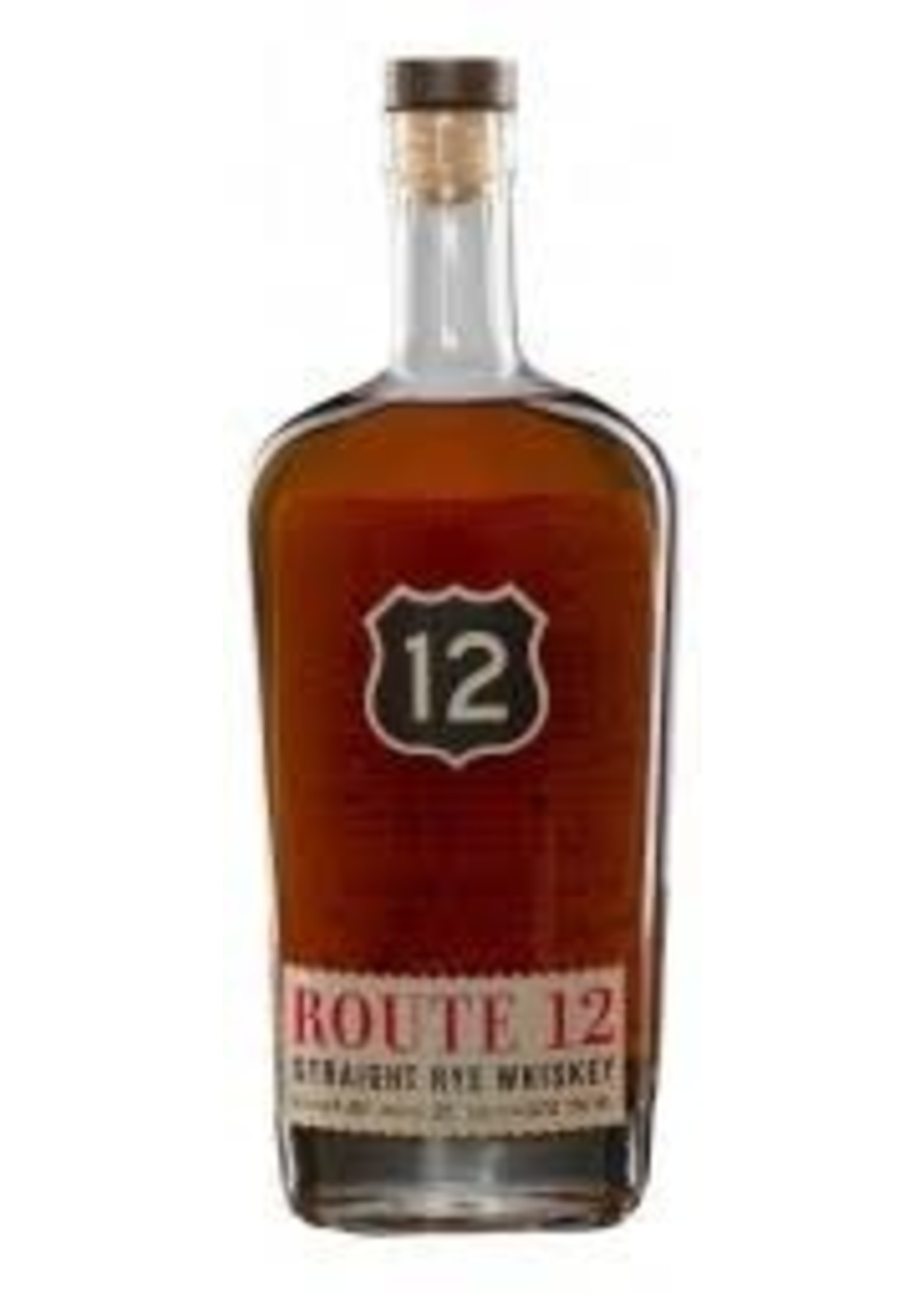 Route 12 Straight Rye Whiskey 750ml