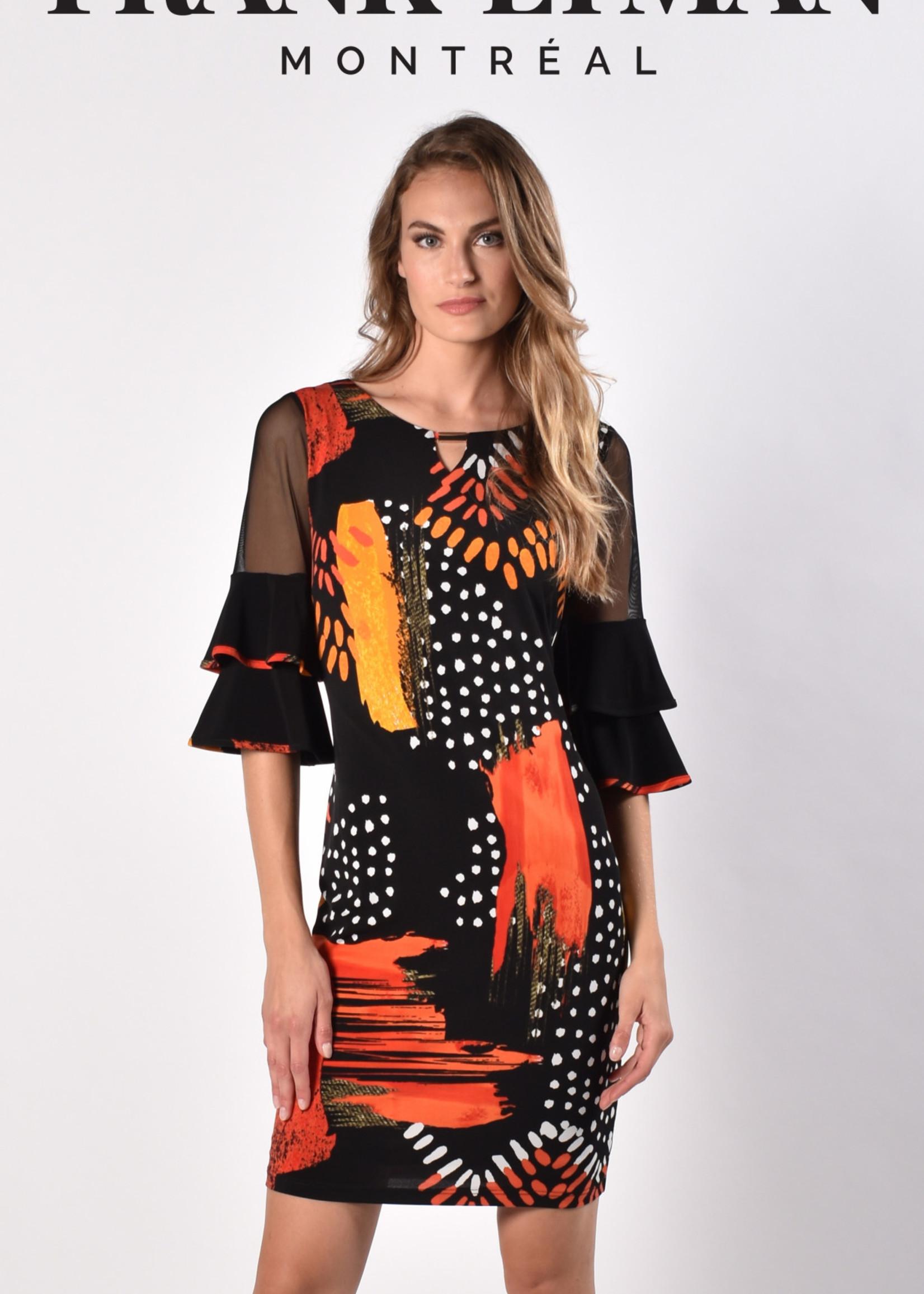 FRANK LYMAN 216418 knit dress