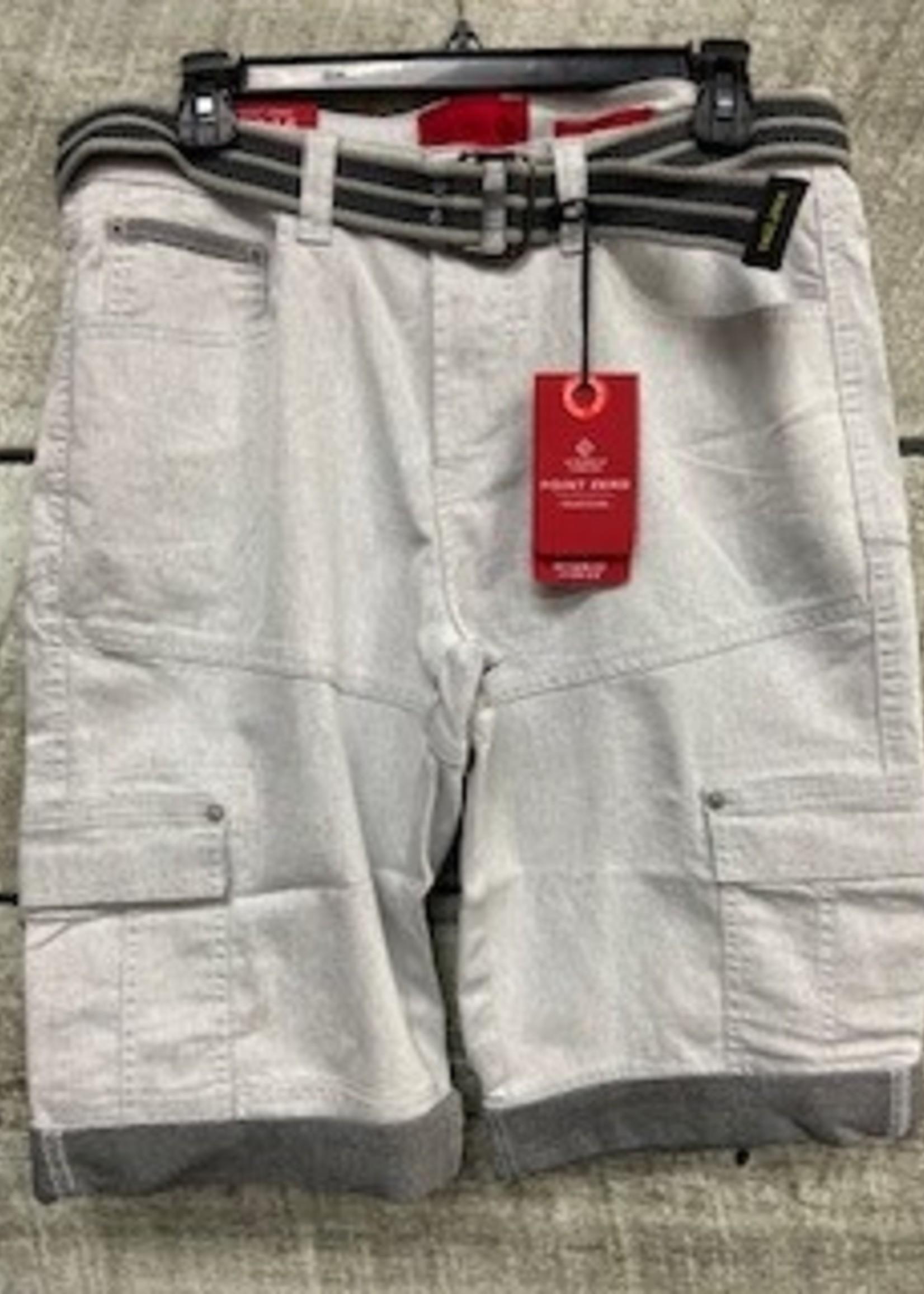 POINT ZERO Style 7455475  - 2 Tone Denim Belted Short