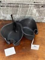 Hilborn Pottery Pistachio Dish Brown