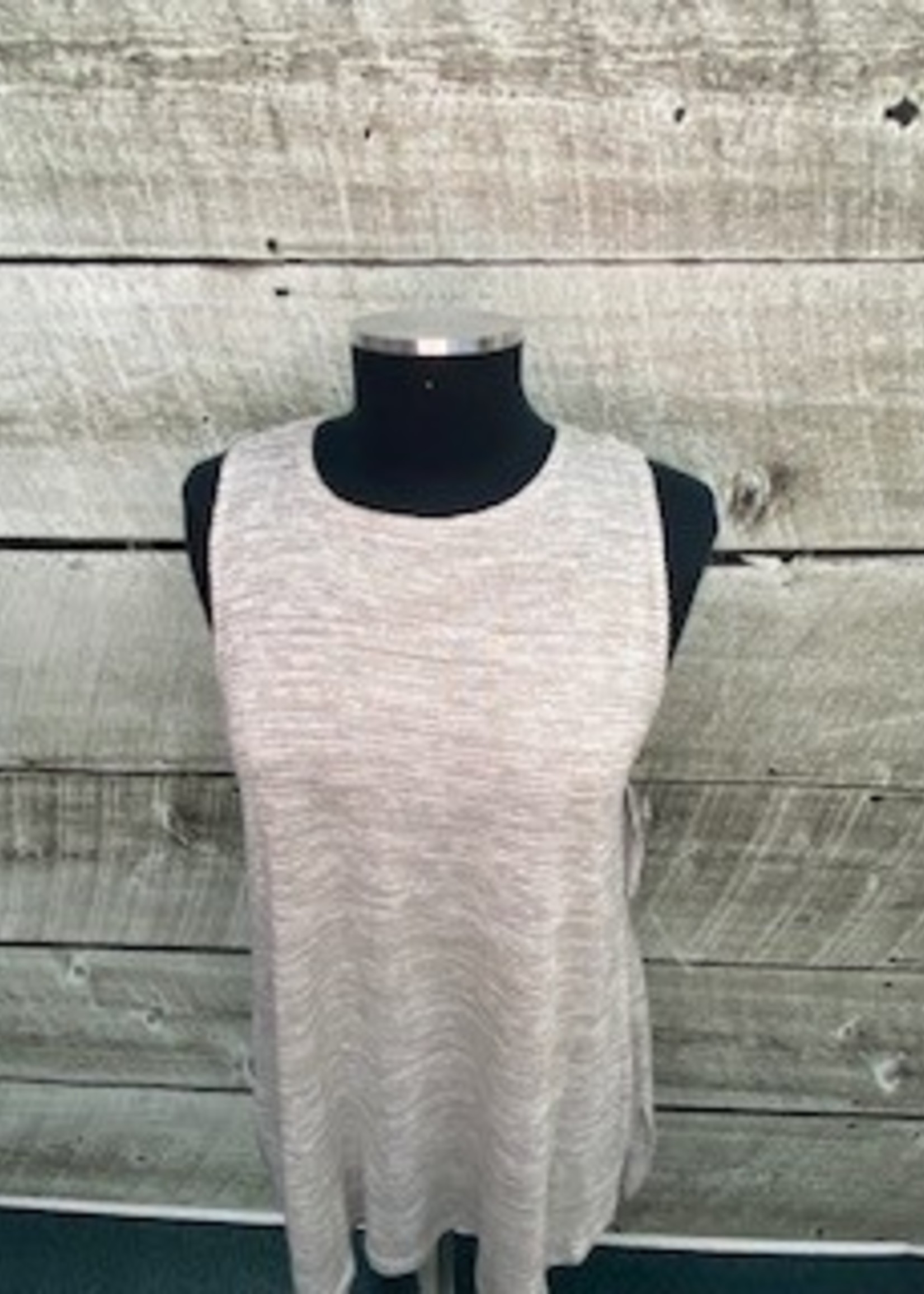 SYMPLI Sleeveless Nu Ideal Sweater aqua