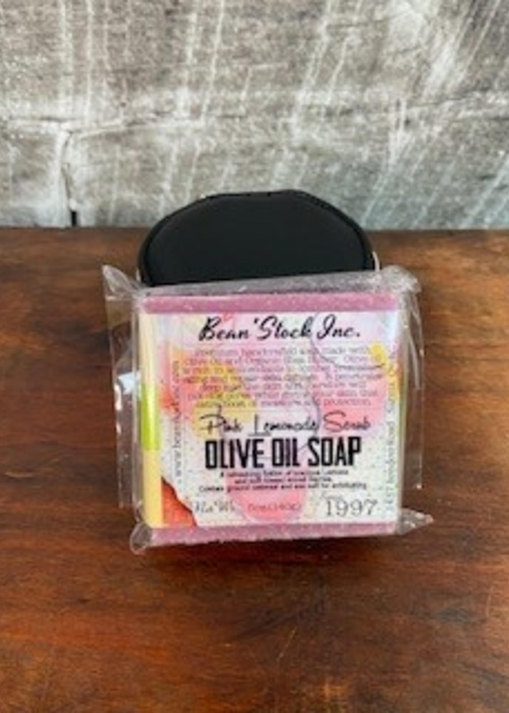 Bean stock Olive Oil Bar Soap - Pink Lemonade
