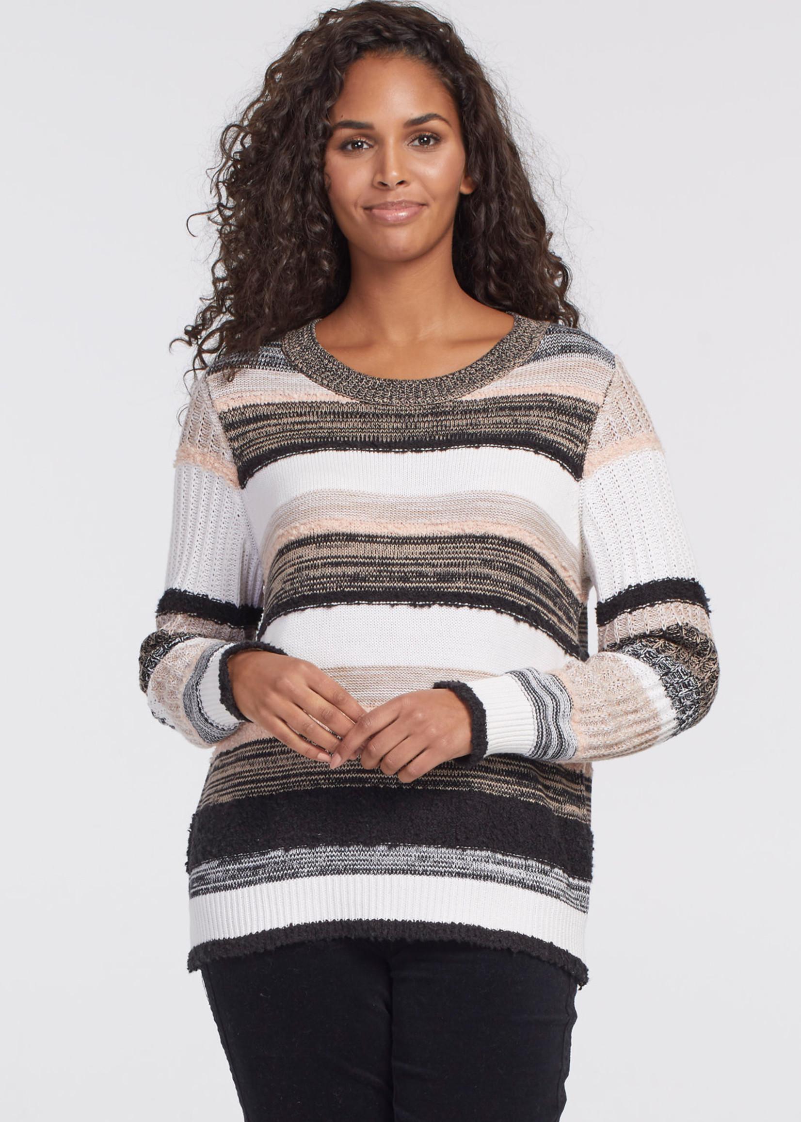 Tribal LS Crew Sweater 46490/3342