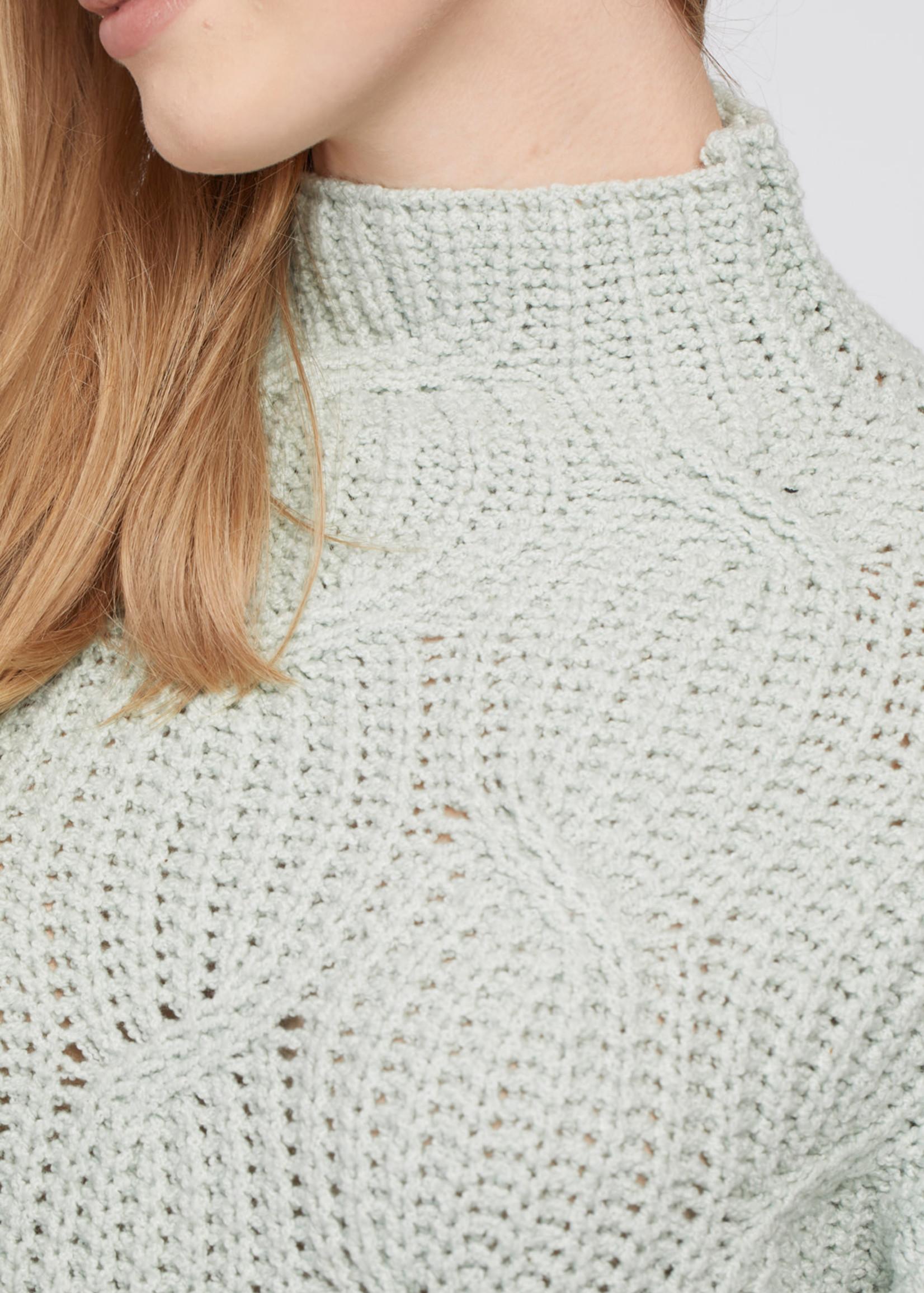 Tribal HIgh Neck Oversized Sweater 71320/4492